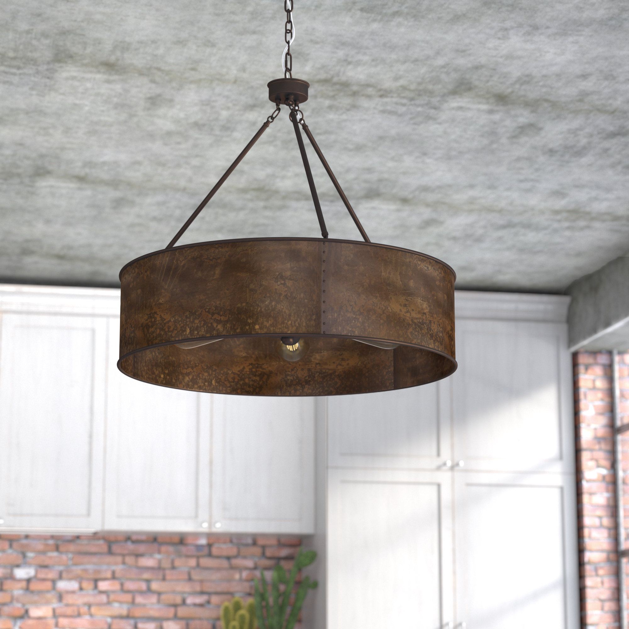 Vincent 5 Light Drum Chandeliers With Regard To Well Known Trent Austin Design Vincent 5 Light Drum Chandelier (Gallery 1 of 20)