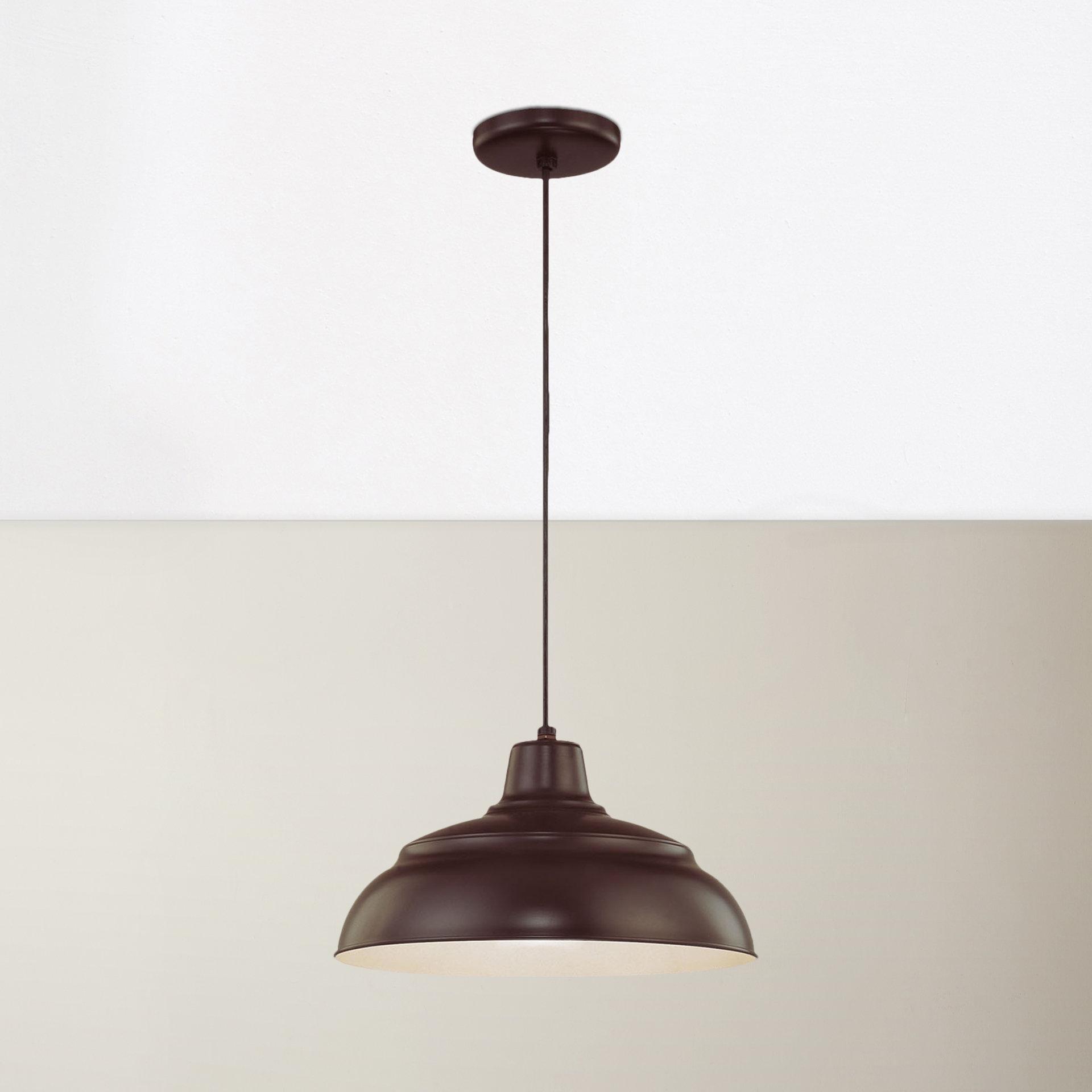Vintage Edison 1 Light Bowl Pendants Intended For Famous Stetson 1 Light Bowl Pendant (View 10 of 20)