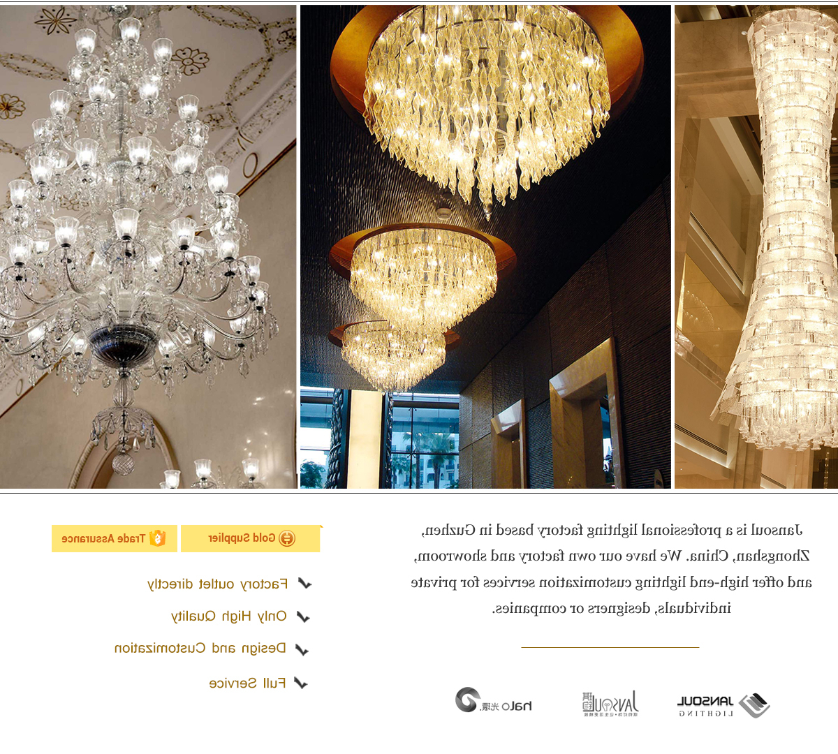 Von 4 Light Crystal Chandeliers With Regard To 2020 Zhongshan Jansoul Lighting Co., Ltd (View 16 of 20)