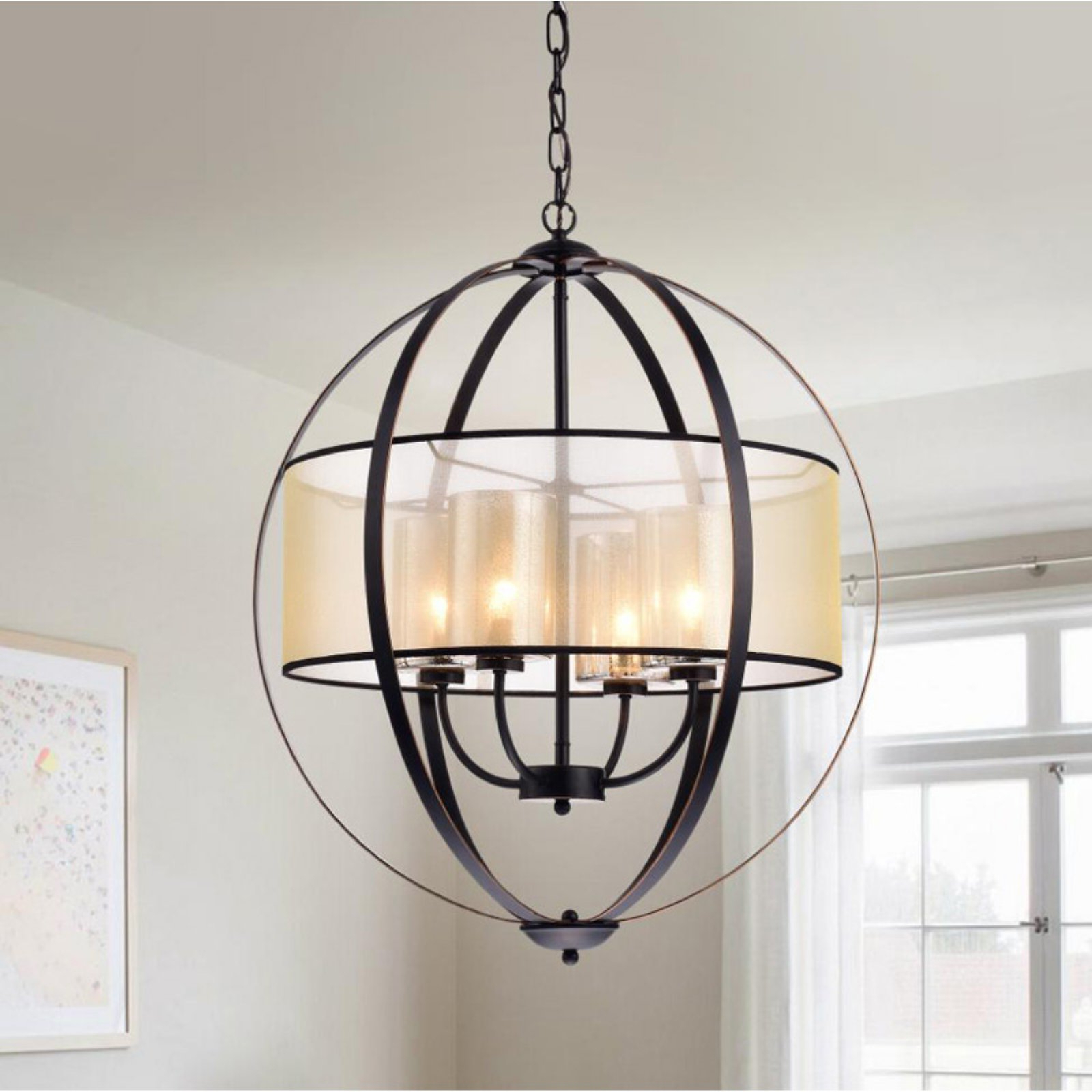 Warehouse Of Tiffany Rl8198C/orb Chandelier In 2019 For Fashionable Aadhya 5 Light Drum Chandeliers (View 14 of 20)