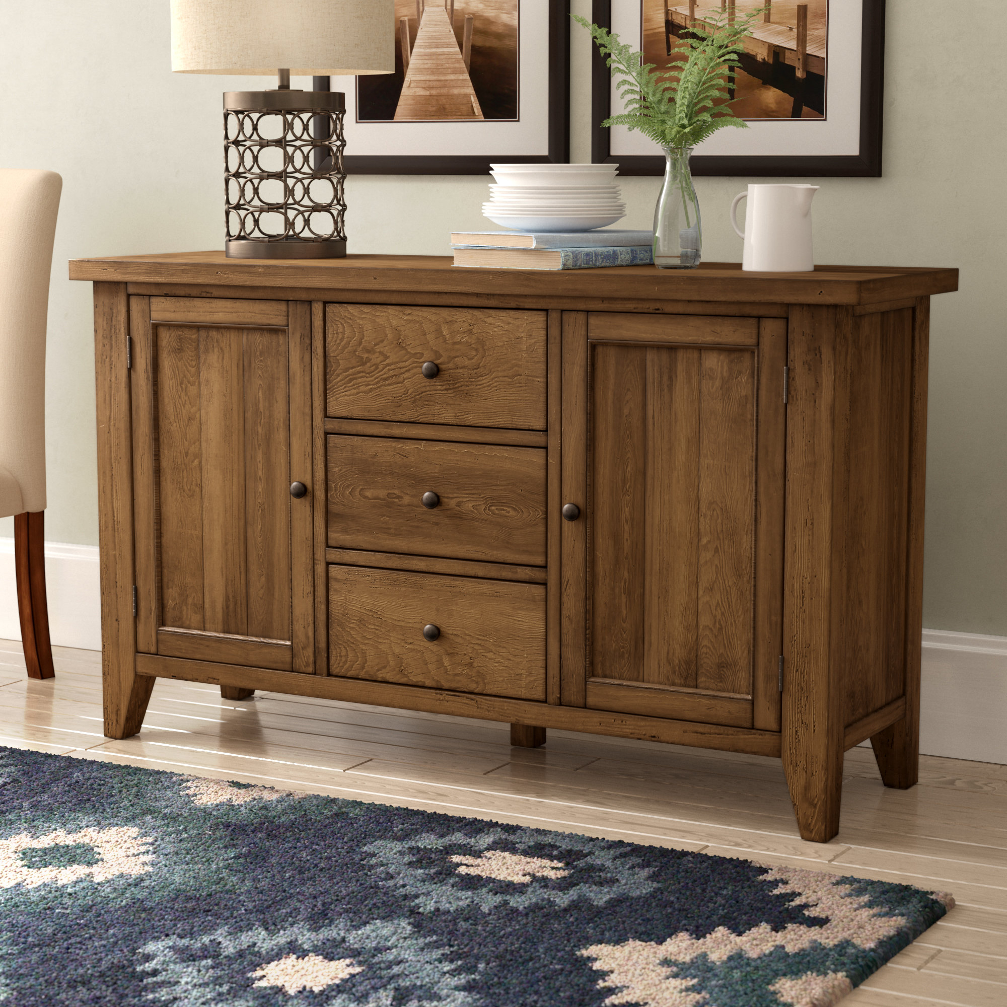 Warkentin Sideboard Intended For Widely Used Sayles Sideboards (View 4 of 20)
