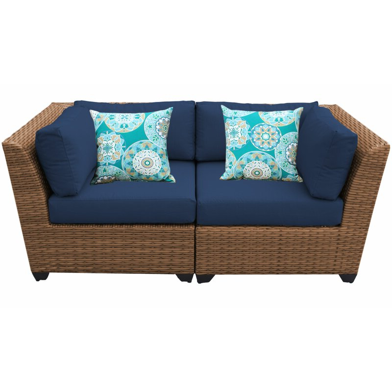 Waterbury Loveseat With Cushions Throughout Recent Waterbury Curved Armless Sofa With Cushions (View 8 of 20)