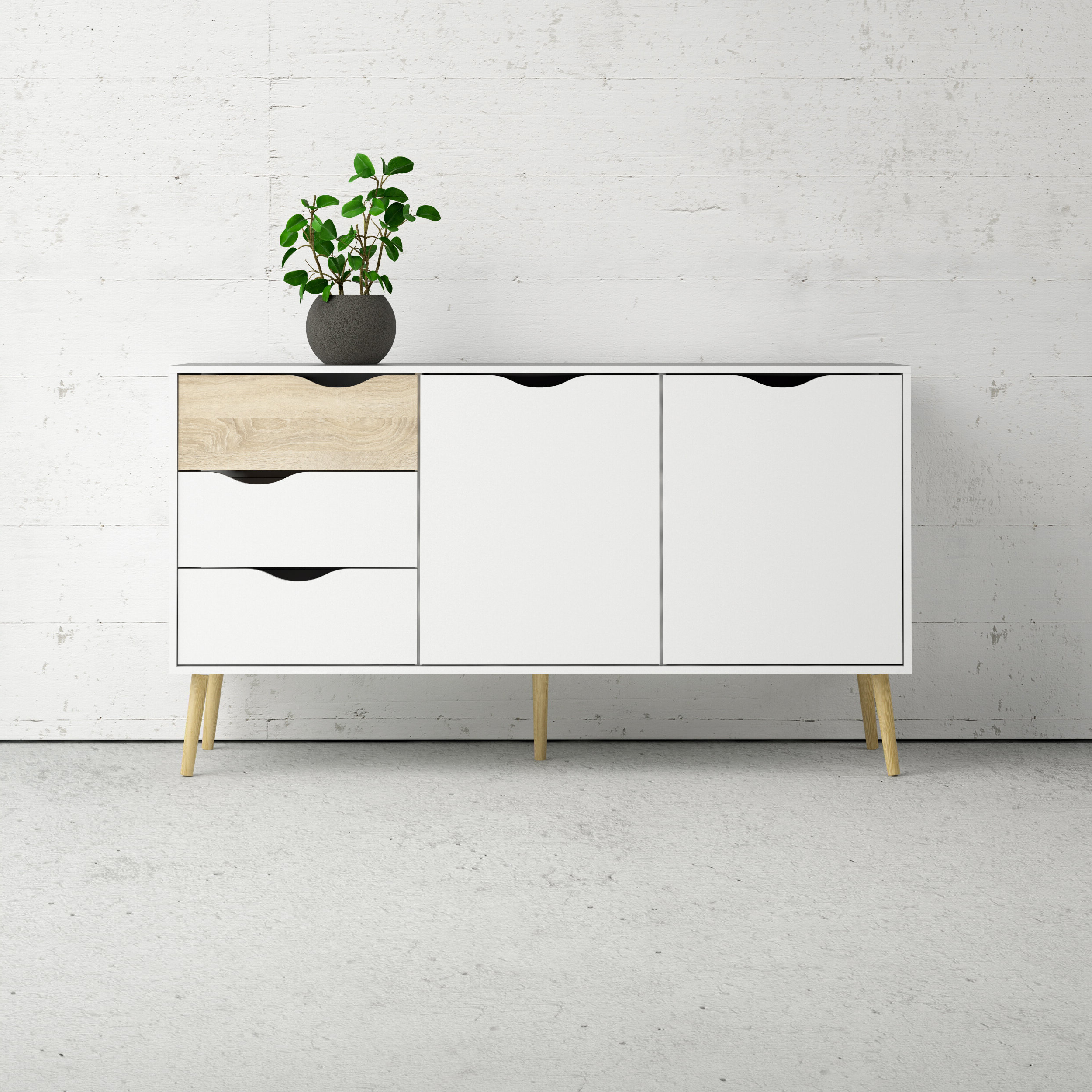 Featured Photo of Dowler 2 Drawer Sideboards