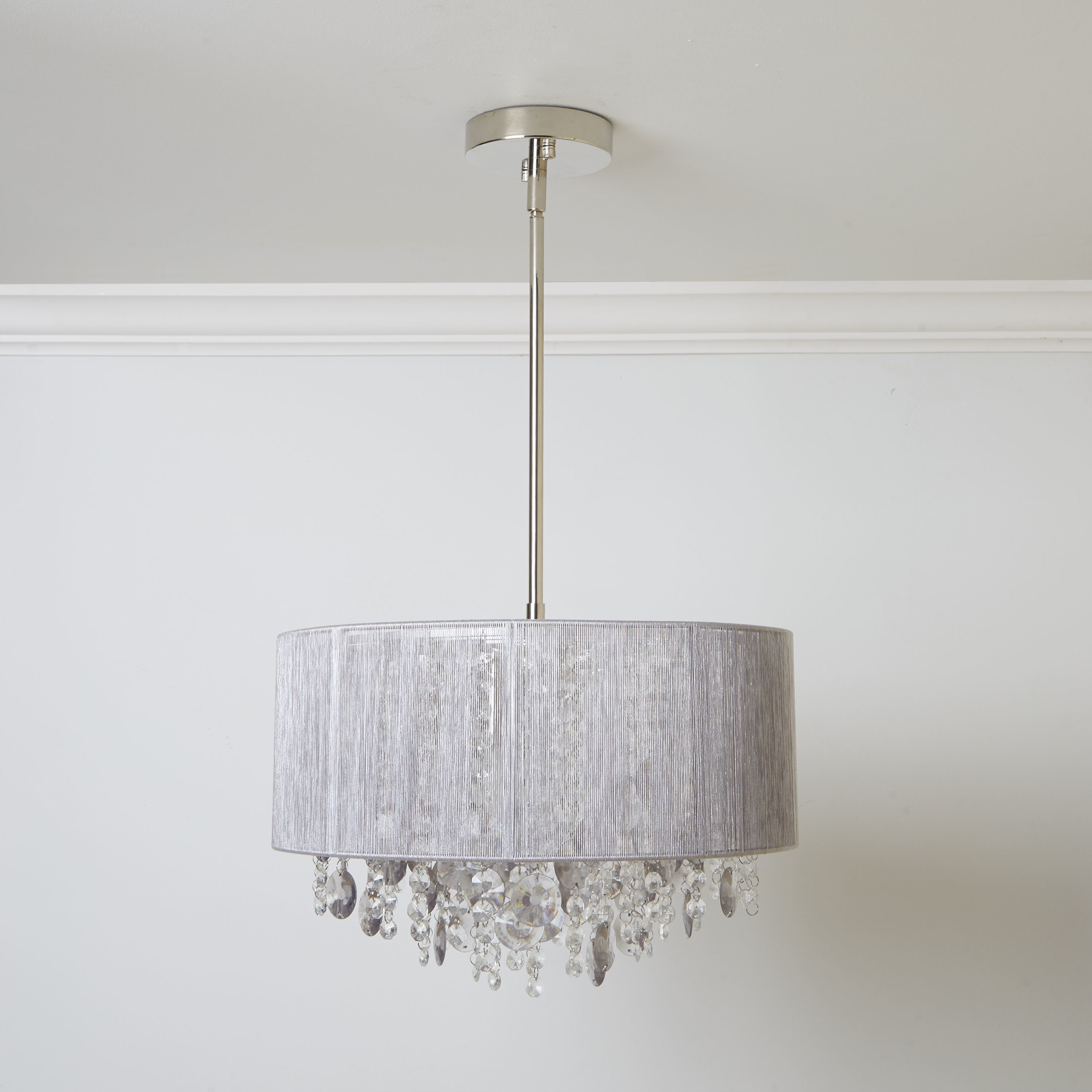 Wayfair Within Famous Willems 1 Light Single Drum Pendants (View 4 of 20)