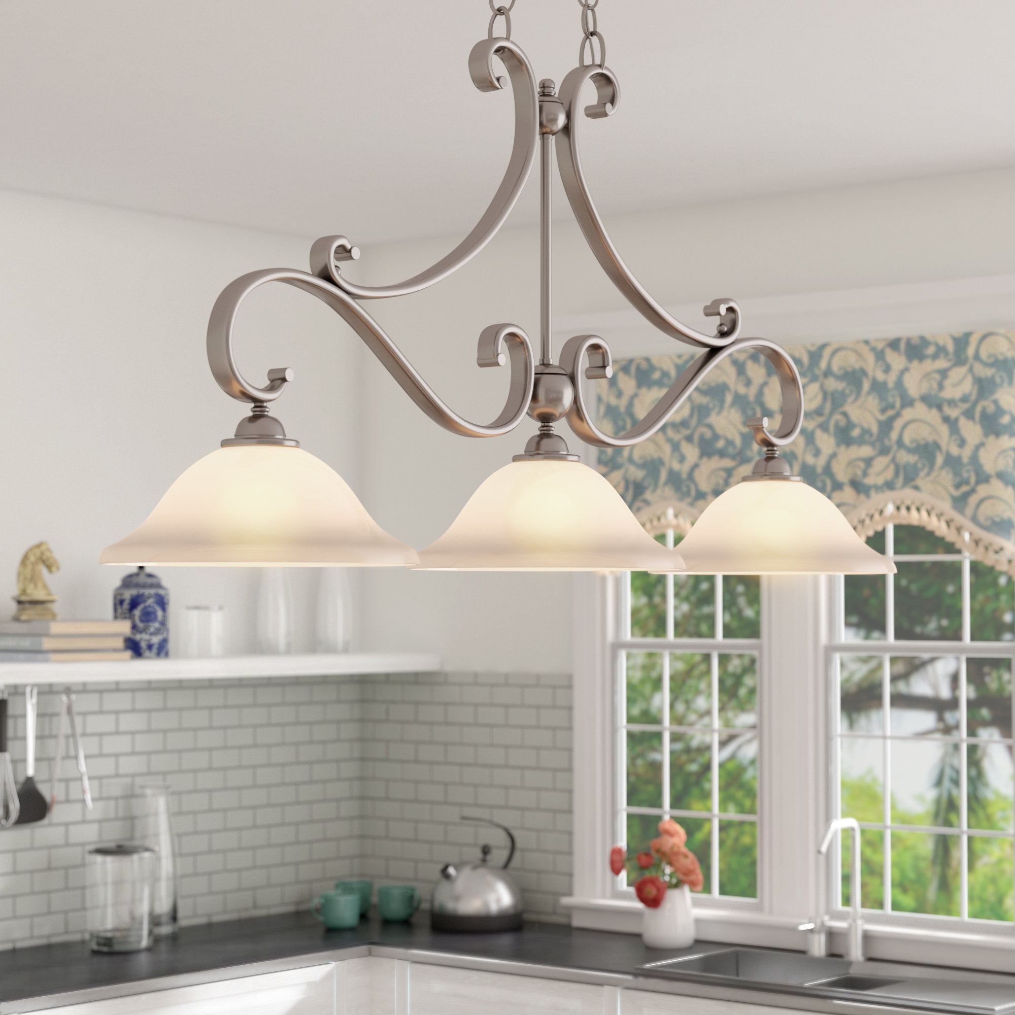 Wayfair Within Robblee 4 Light Geometric Pendants (View 18 of 20)