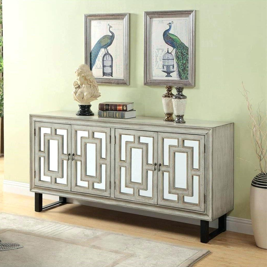 Well Known 4 Door Credenza – Canapes Intended For Elyza Credenzas (View 7 of 20)