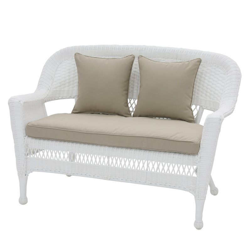 Well Known Alburg Loveseats With Cushions Within Alburg Loveseat With Cushions (Gallery 7 of 20)
