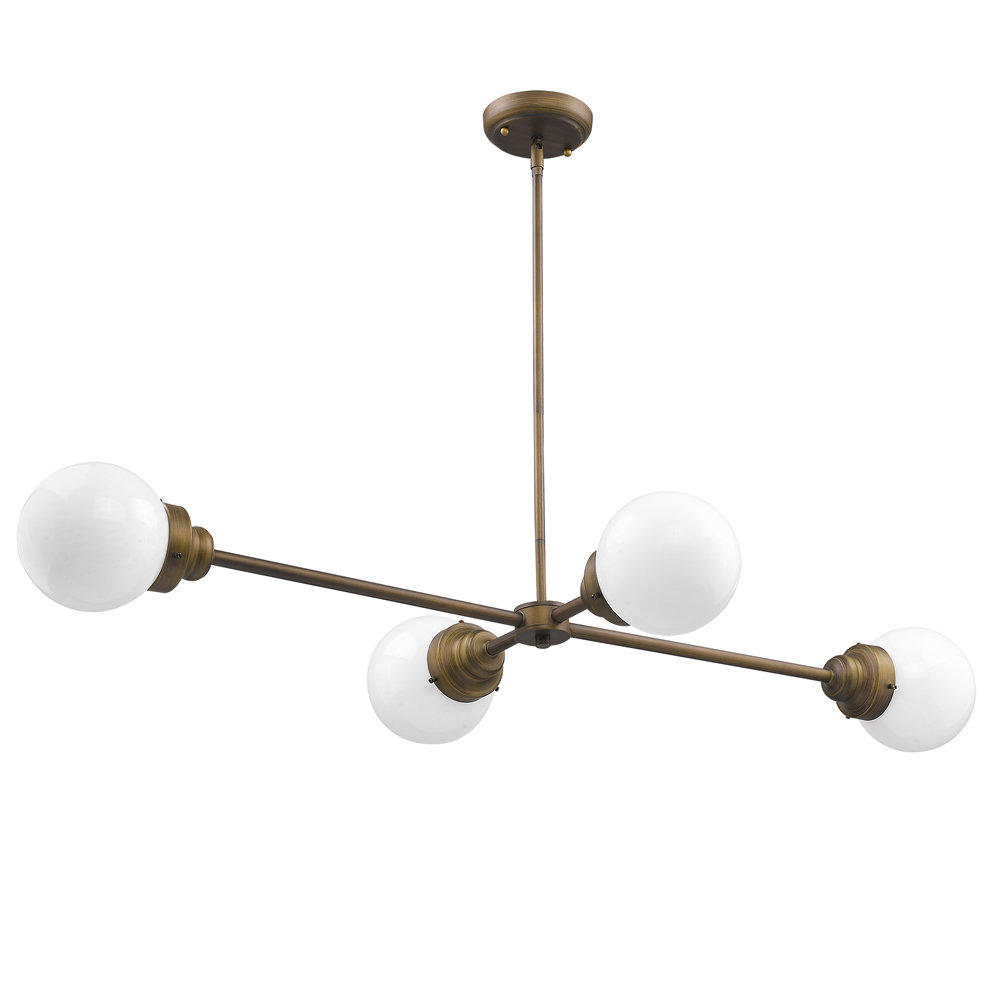 Well Known Bautista 5 Light Sputnik Chandeliers With Regard To Rabehi 4 Light Sputnik Chandelier (View 17 of 20)