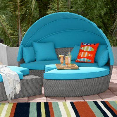 Well Known Beachcrest Home Churchill Luxurious Resort Style Daybed With In Gilbreath Daybeds With Cushions (View 19 of 20)