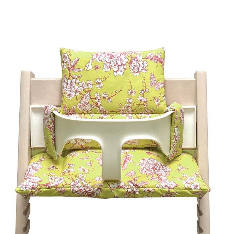 Well Known Blausberg Baby – Cushion Set (Coated) For Stokke Tripp Trapp Highchair –  Cherry Blossom Yellow Pink Pertaining To Tripp Loveseats With Cushions (View 16 of 20)