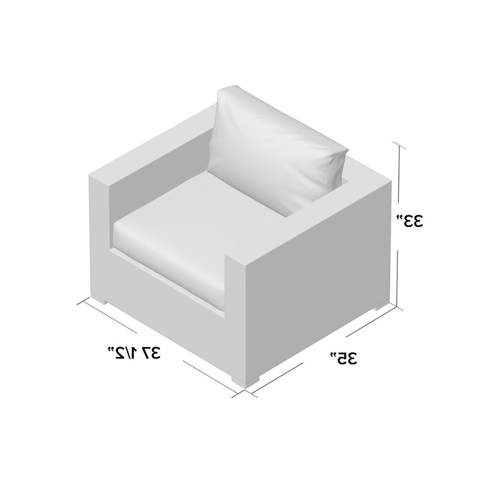 Well Known Brentwood Patio Sofas With Cushions Regarding Brentwood Patio Chair With Cushions (View 12 of 20)