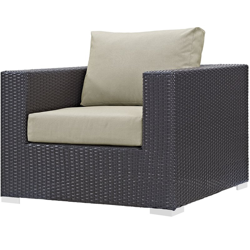 Well Known Brentwood Patio Sofas With Cushions Throughout Brentwood Patio Chair With Cushions (View 6 of 20)