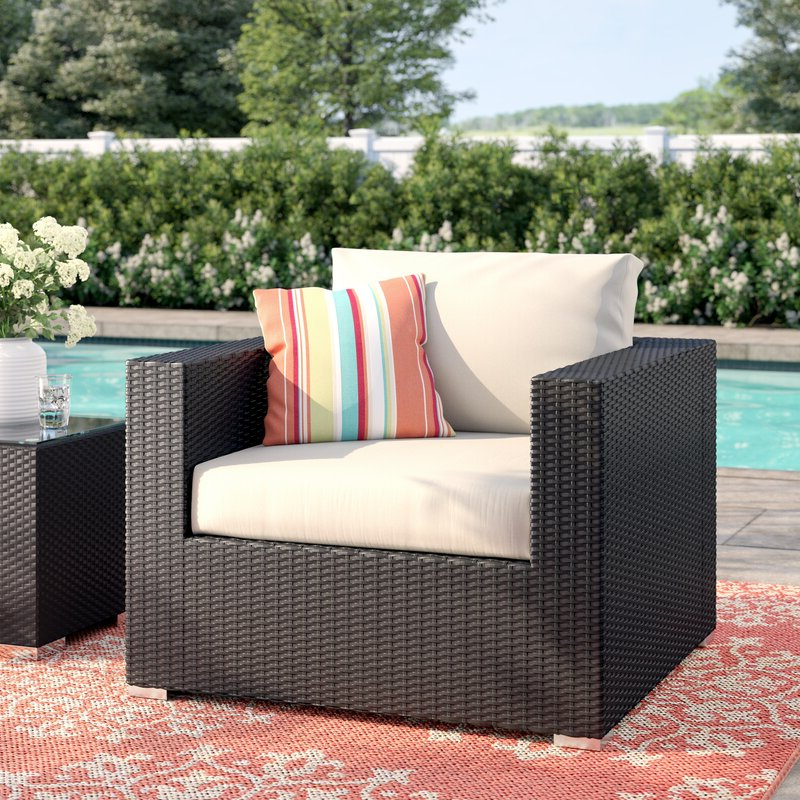 Well Known Brentwood Patio Sofas With Cushions With Regard To Brentwood Patio Chair With Cushions (View 7 of 20)