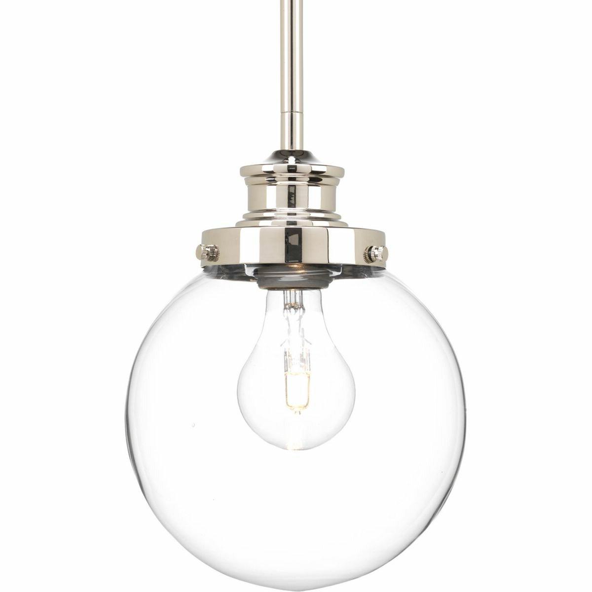 Well Known Bundy 1 Light Single Globe Pendants Intended For Cayden 1 Light Single Globe Pendant (View 12 of 20)