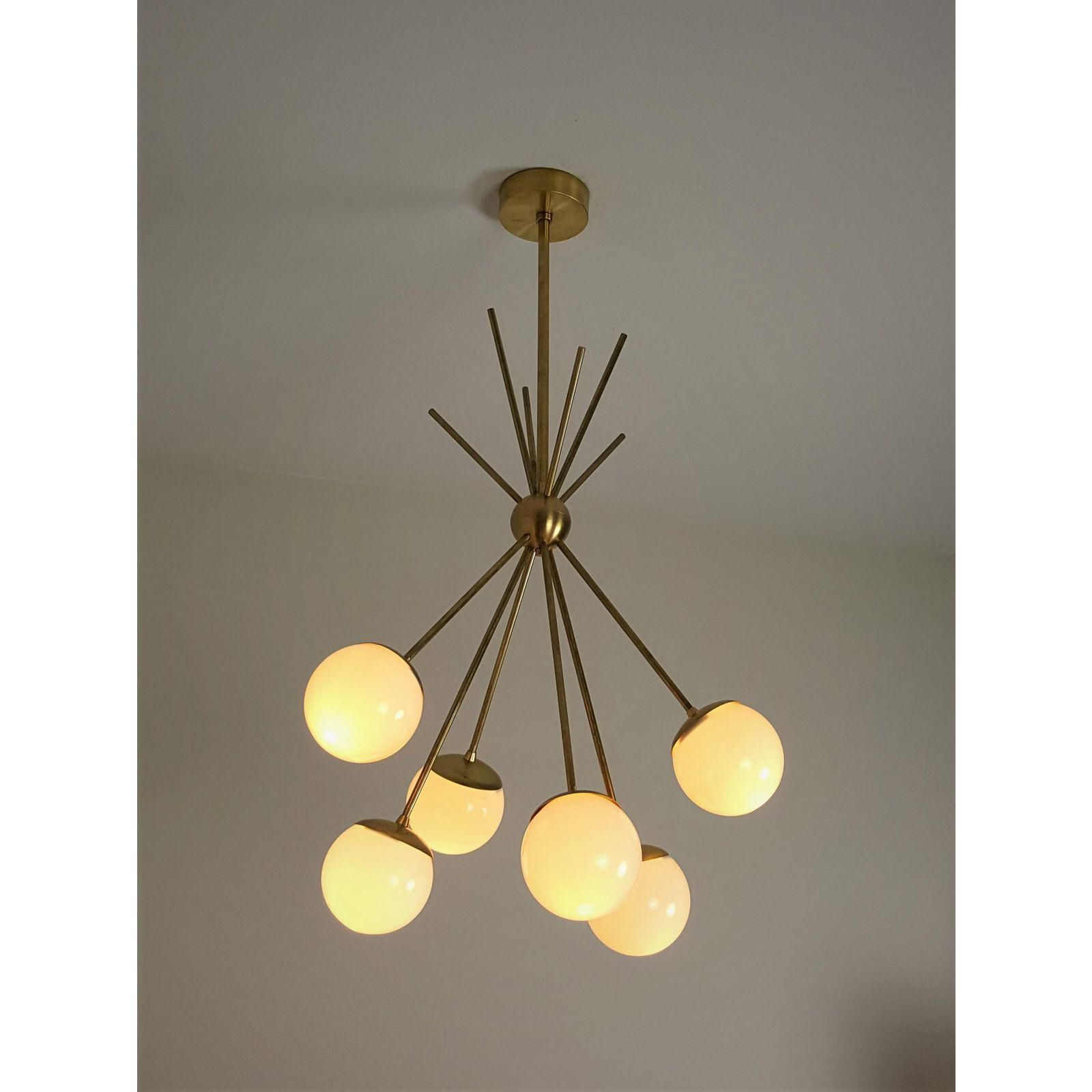 "Well Known Burst"" Model 220 Chandelierblueprint Lighting – Image 5 Pertaining To Bautista 5 Light Sputnik Chandeliers (Gallery 16 of 20)"
