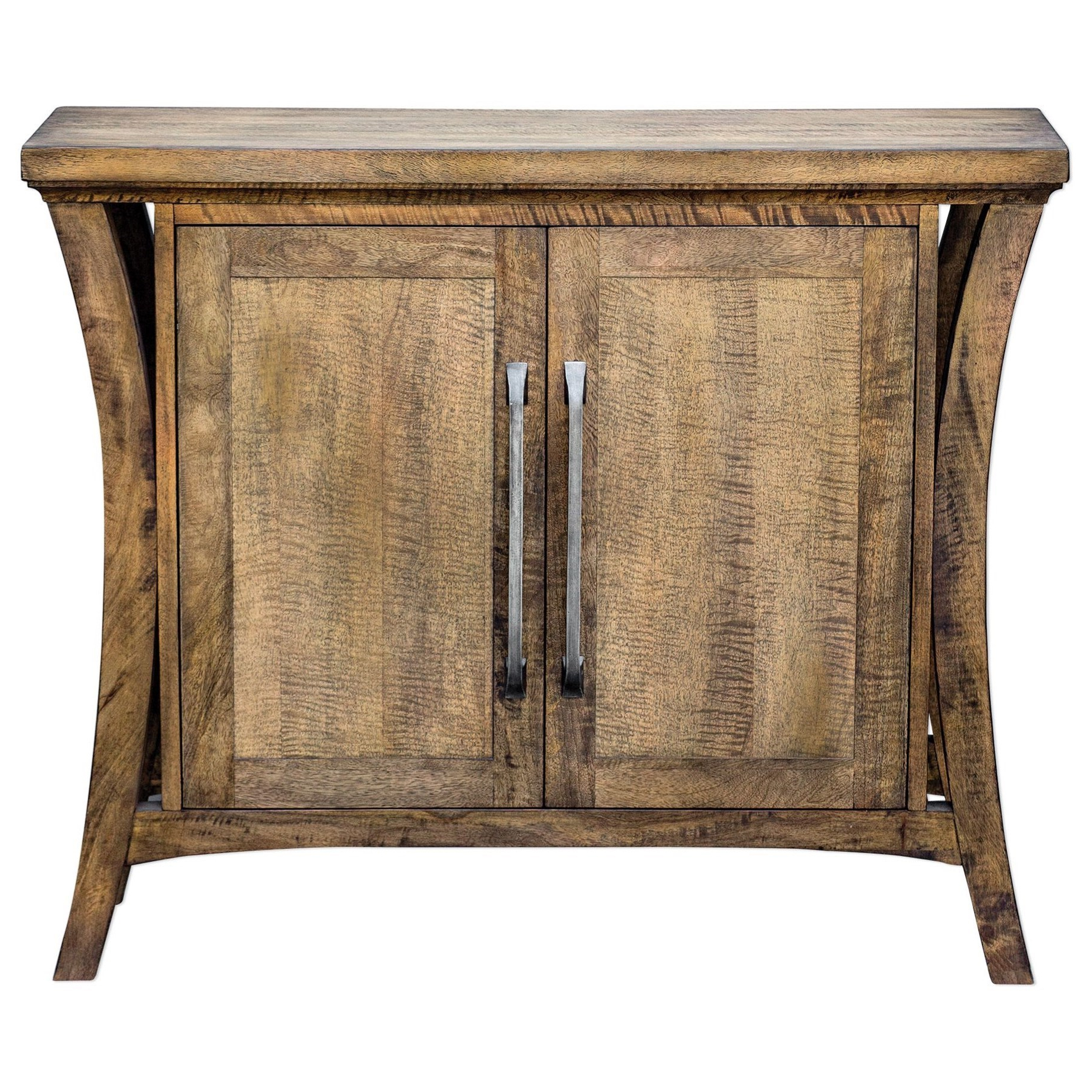 Well Known Caines Credenzas Pertaining To Accent Furniture – Chests Cary Distressed Console Cabinetuttermost At  Corner Furniture (Gallery 17 of 20)