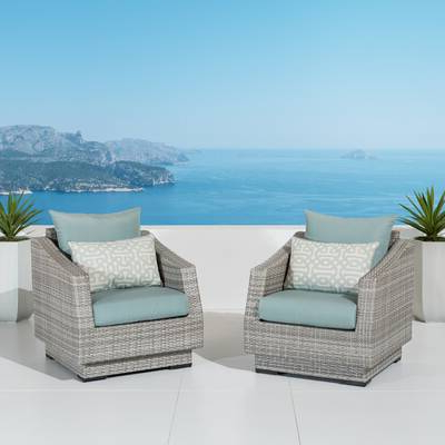 Well Known Castelli Patio Sofas With Sunbrella Cushions For Castelli Swivel Patio Chair With Sunbrella Cushions (Gallery 9 of 20)