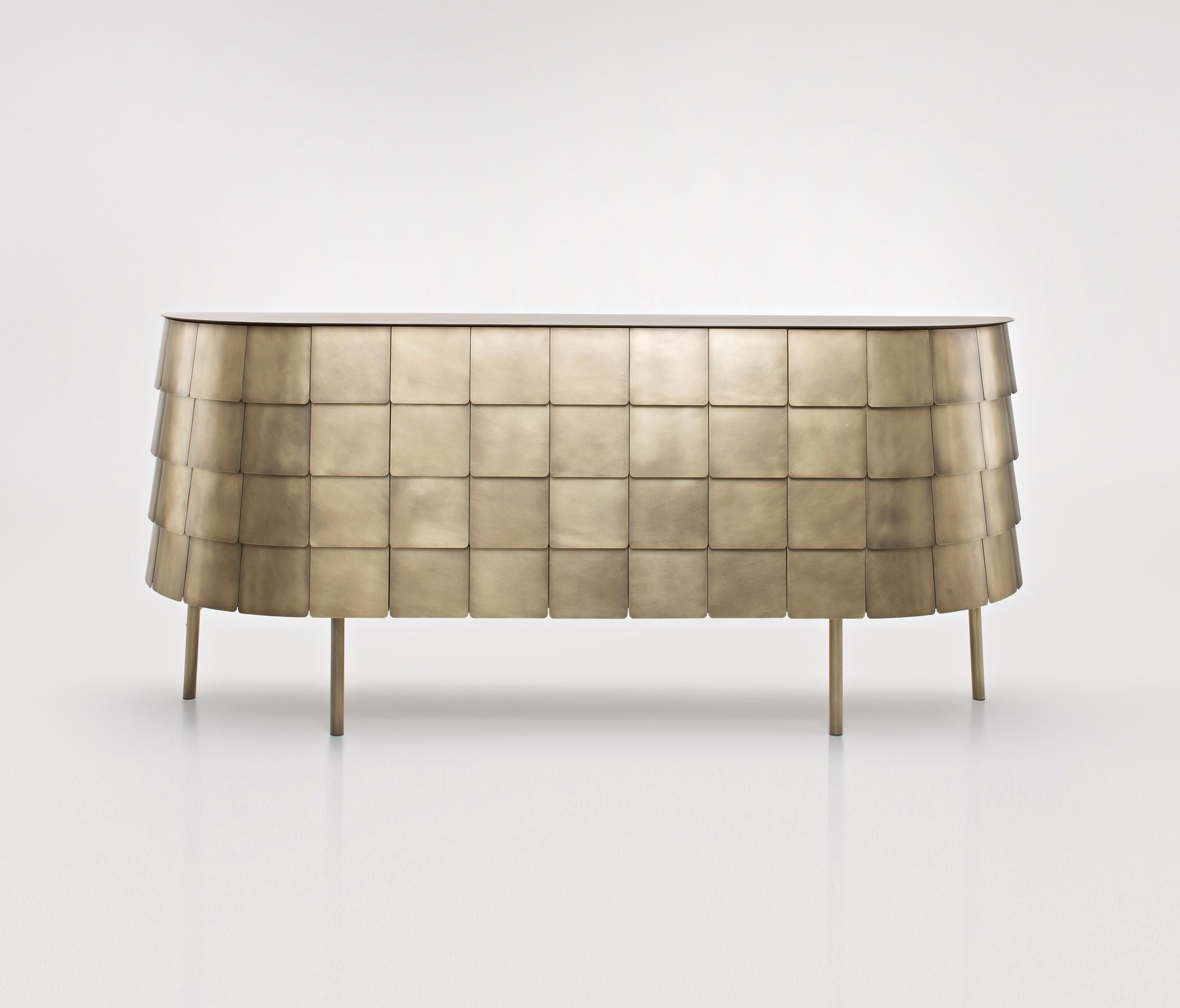 Well Known Castelli Sideboards With Regard To De Castelli: Metal At Its Finest (Gallery 4 of 20)