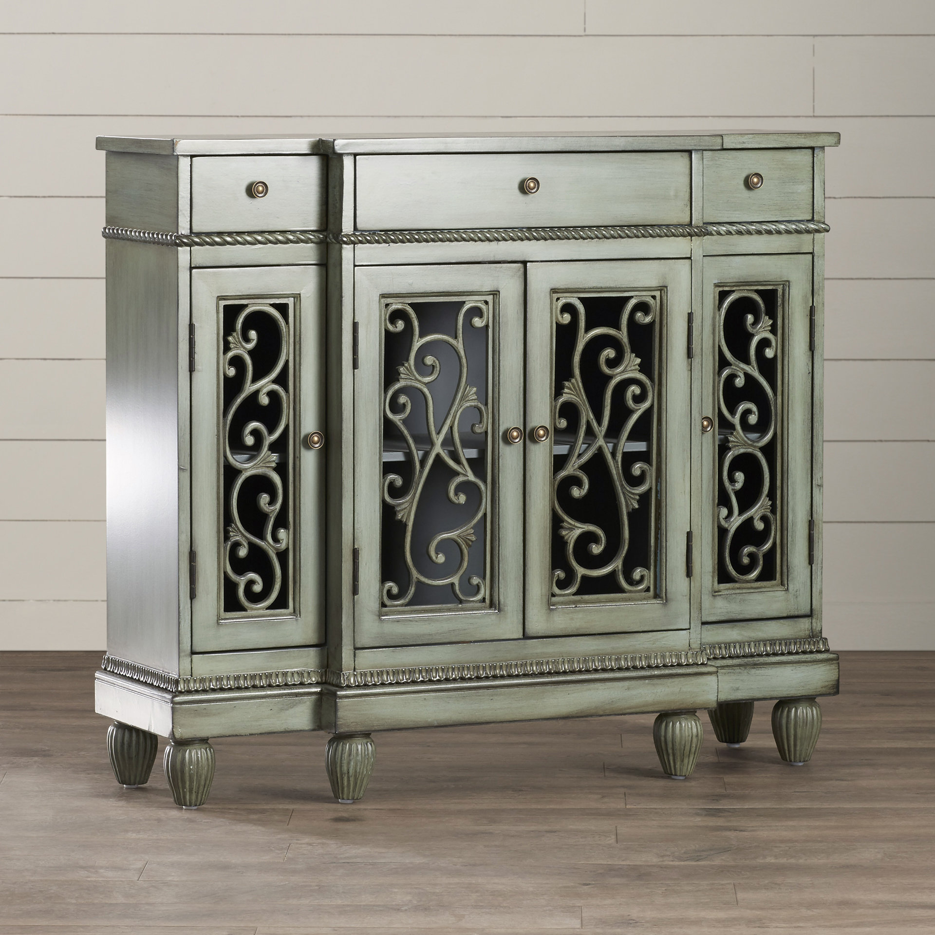 Well Known Cazenovia Charnley Sideboards For Distressed Finish Grey Sideboards & Buffets You'll Love In (View 19 of 20)