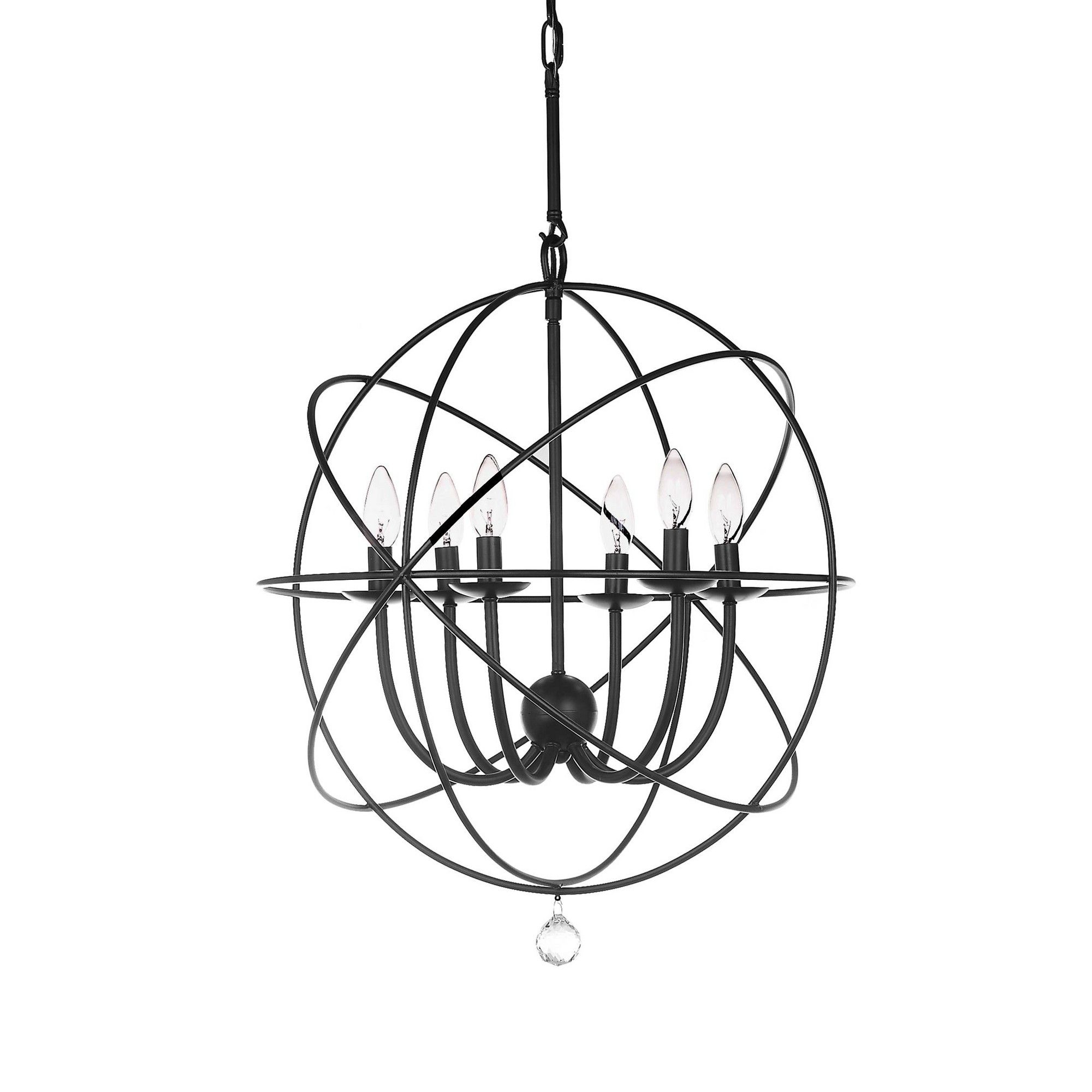 Well Known Ceiling Lights – Black – Safavieh (View 17 of 20)
