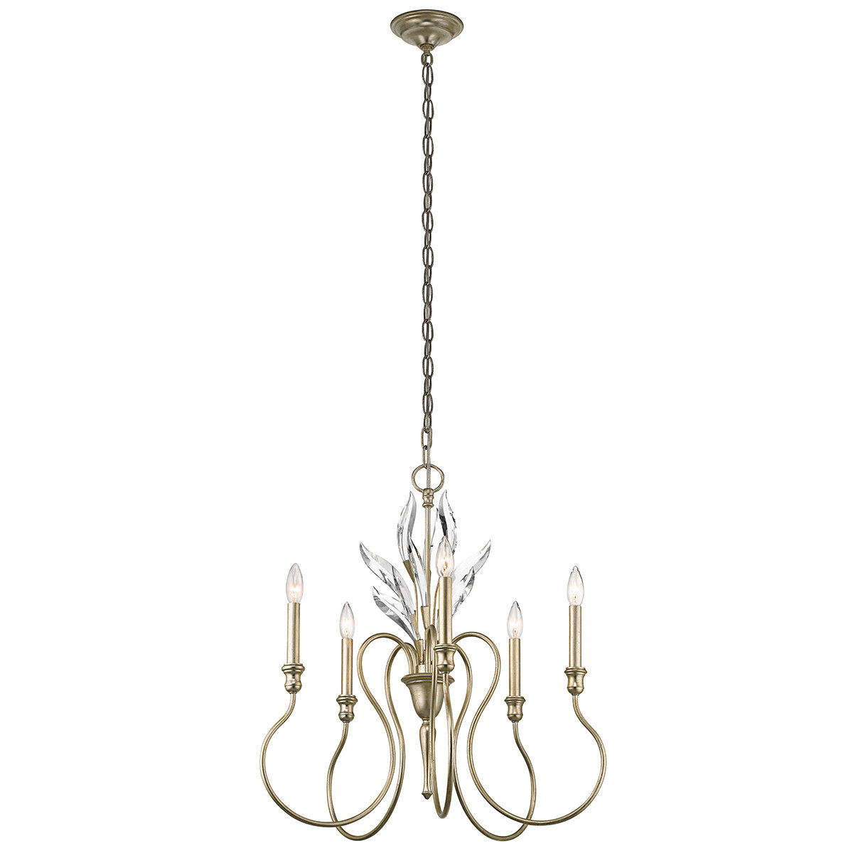 Well Known Corneau 5 Light Chandeliers Throughout Madison Lane 5 Light Chandelier (View 19 of 20)
