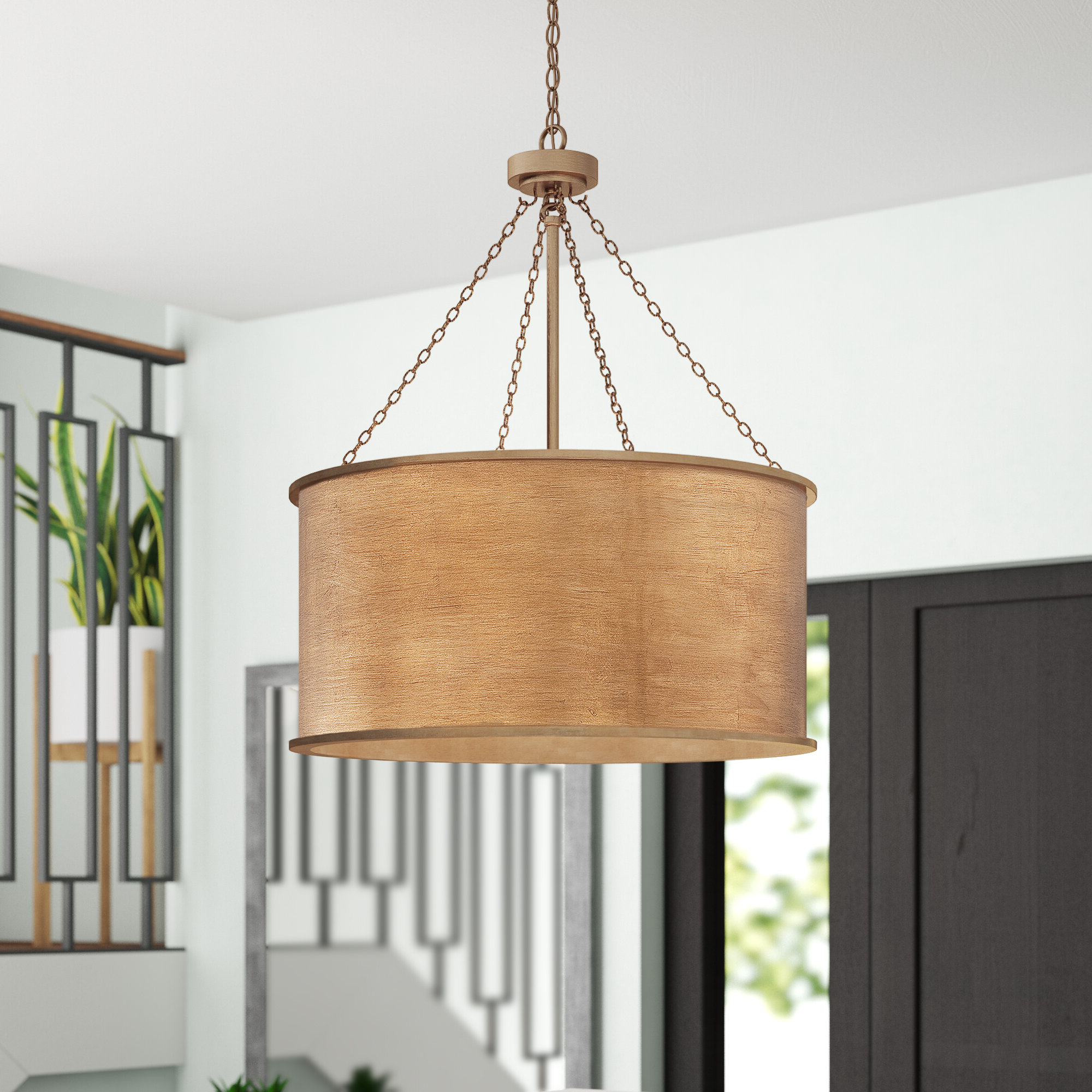 Well Known Cranston 4 Light Drum Chandelier Throughout Dailey 4 Light Drum Chandeliers (View 5 of 20)