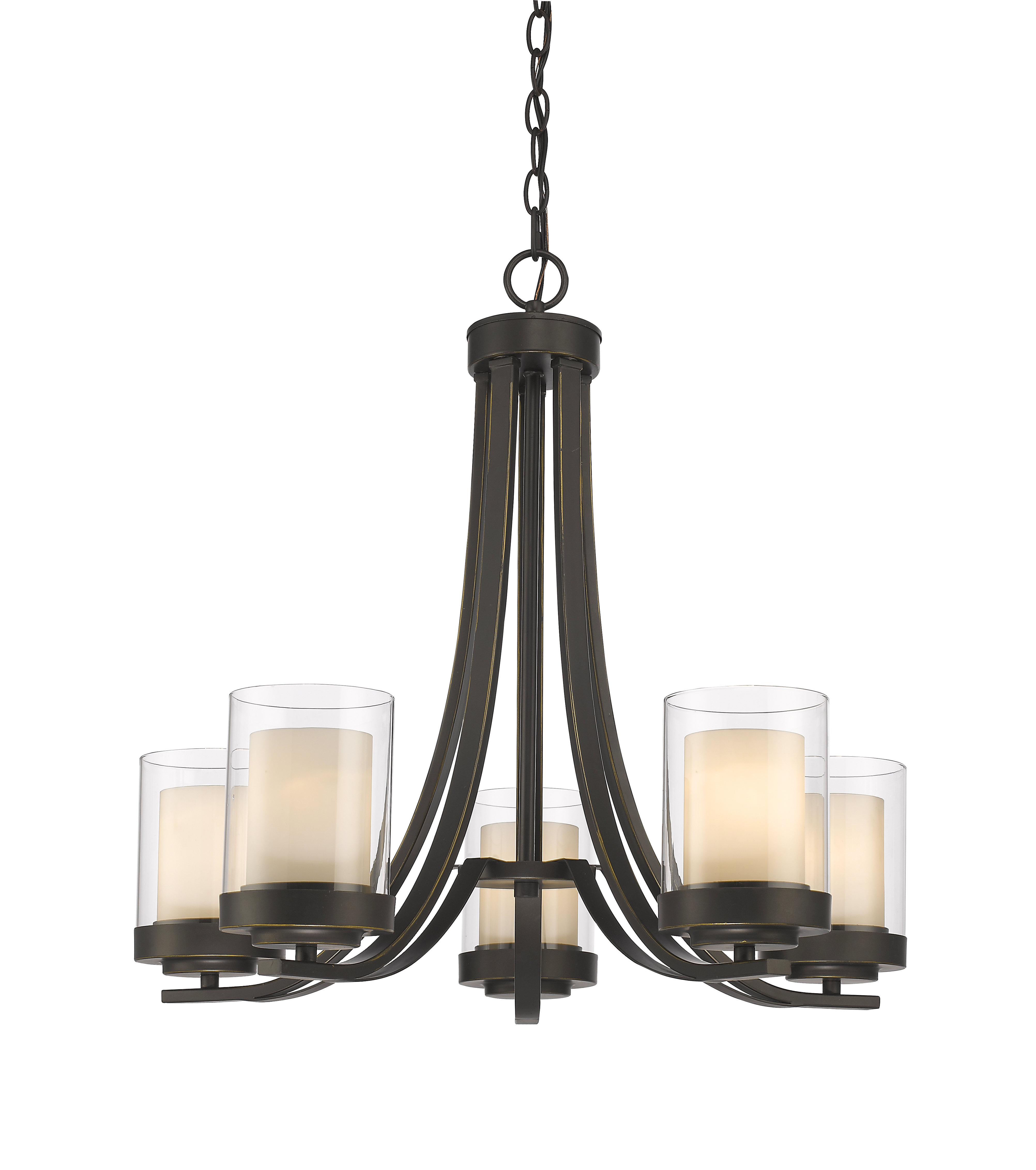 Well Known Crofoot 5 Light Shaded Chandeliers For Cheyne 5 Light Shaded Chandelier (View 19 of 20)