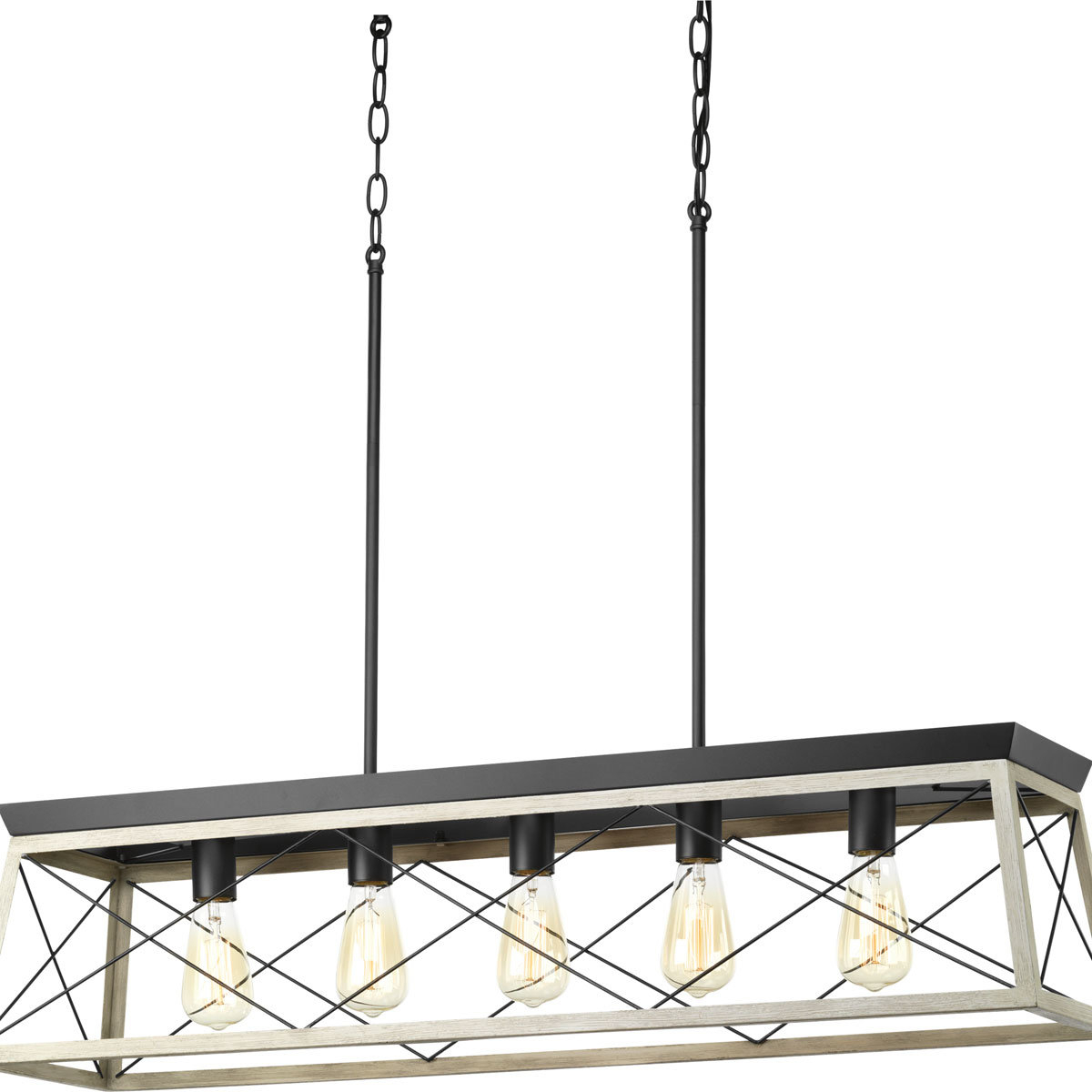 Well Known Delon 5 Light Kitchen Island Linear Pendant Intended For Delon 5 Light Kitchen Island Linear Pendants (View 20 of 20)