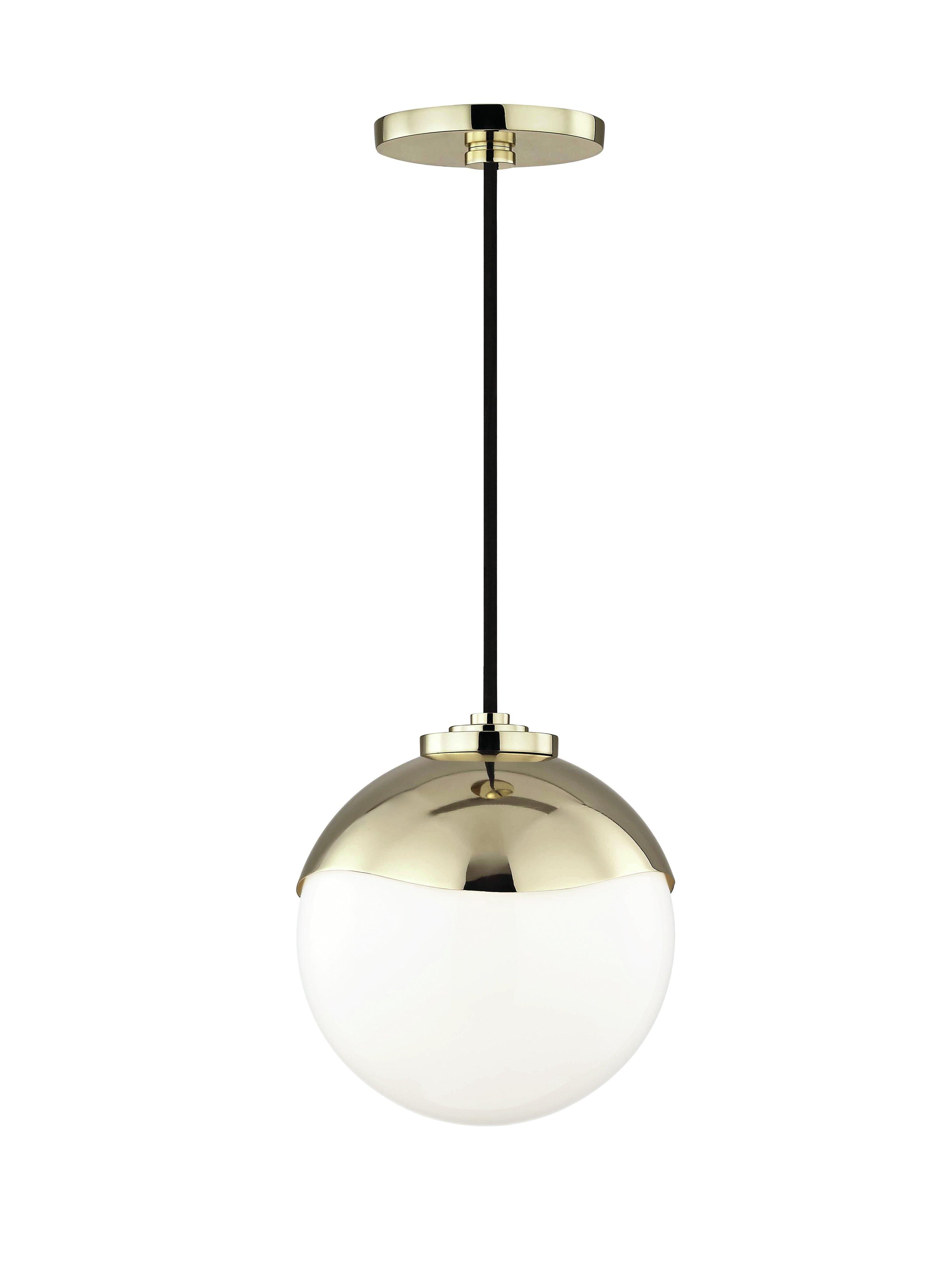 Well Known Devereaux 1 Light Single Globe Pendants Pertaining To Hunter 1 Light Globe Pendant (View 9 of 20)