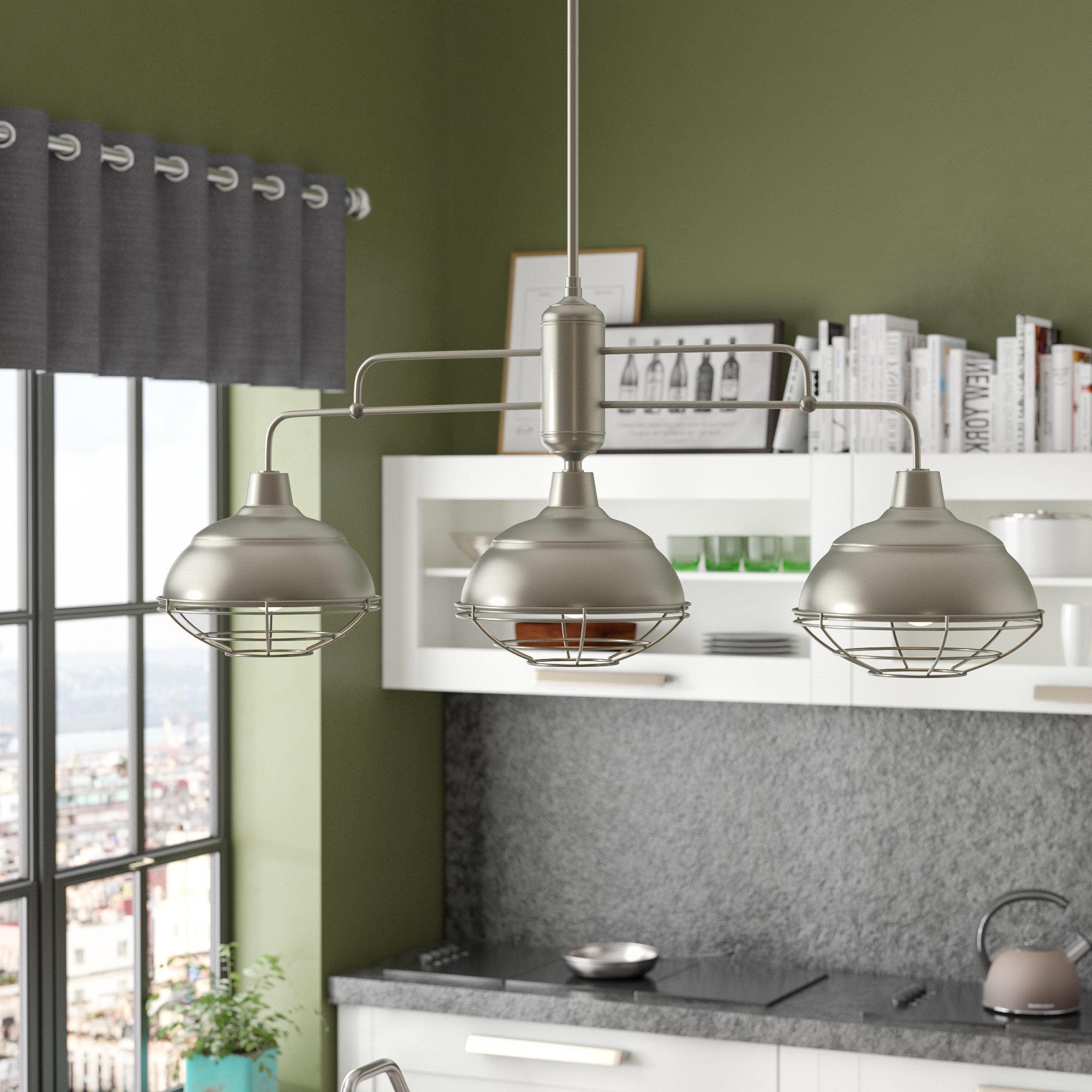 Featured Photo of Dunson 3 Light Kitchen Island Pendants