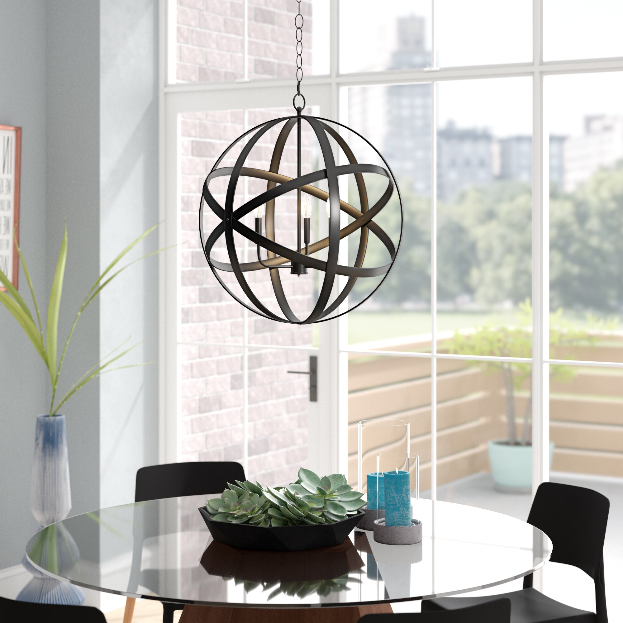 Well Known Ealey 1 Light Single Globe Pendant Pertaining To Irwin 1 Light Single Globe Pendants (View 19 of 20)