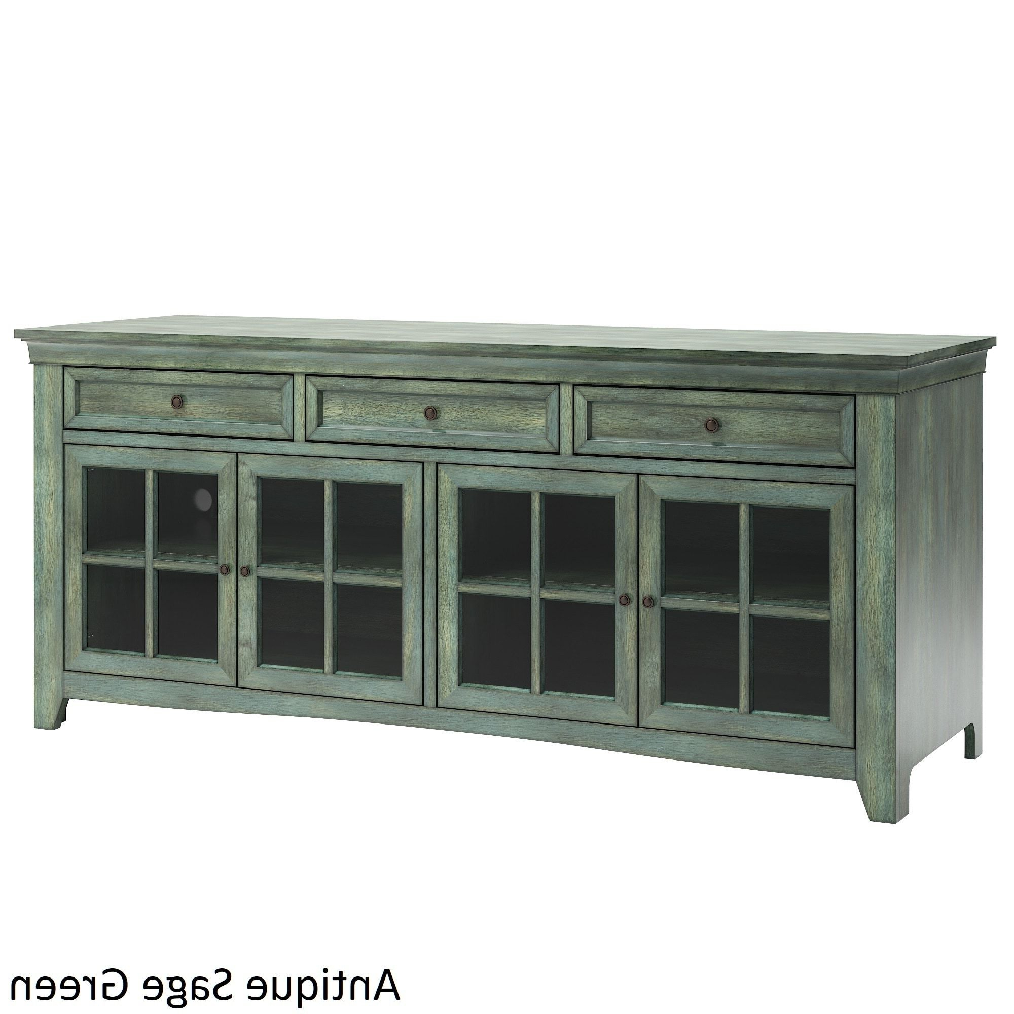 Well Known Ediline 70 Inch 3 Drawer Console Table Tv Stand With Built Within Giulia 3 Drawer Credenzas (View 19 of 20)