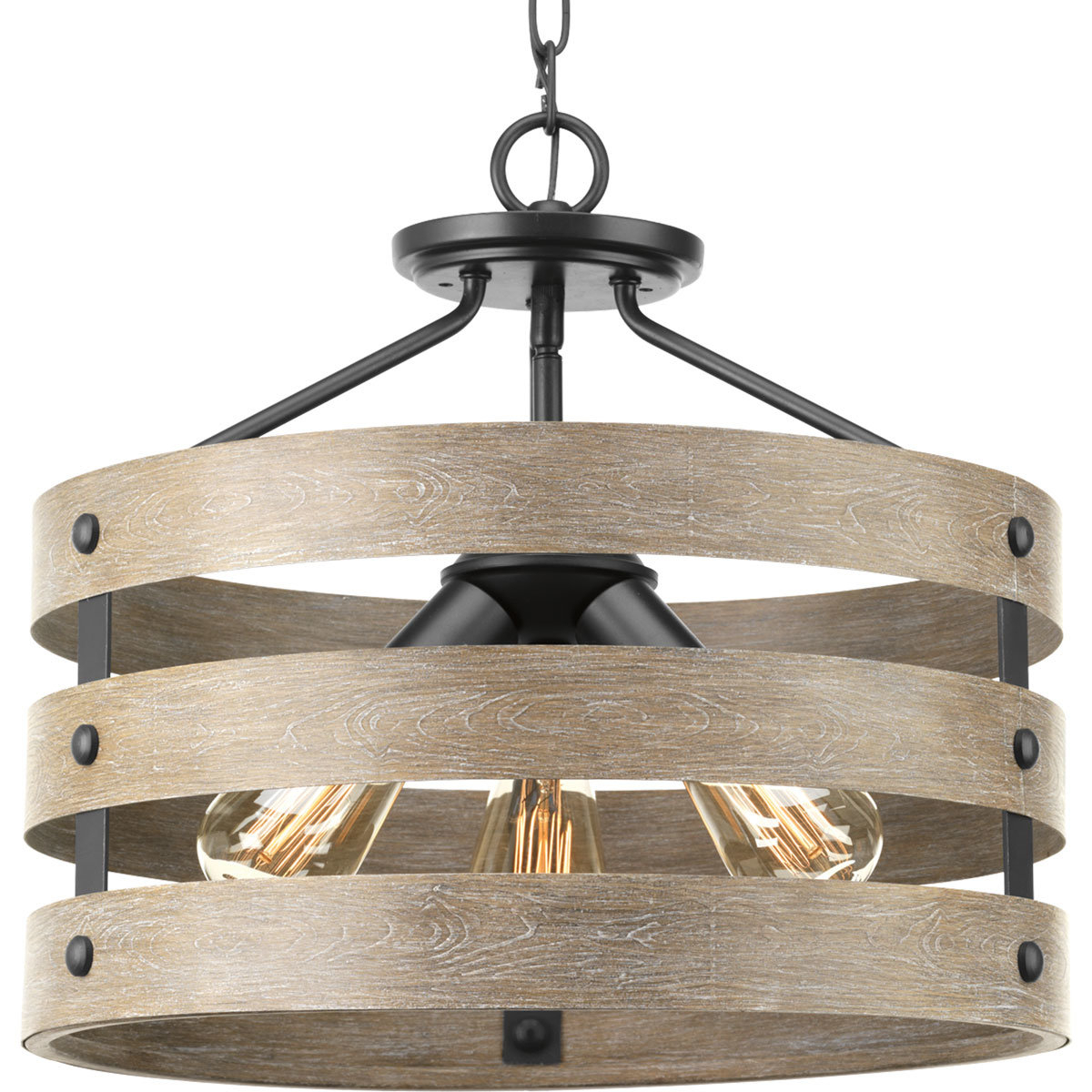 Featured Photo of Emaria 3 Light Single Drum Pendants