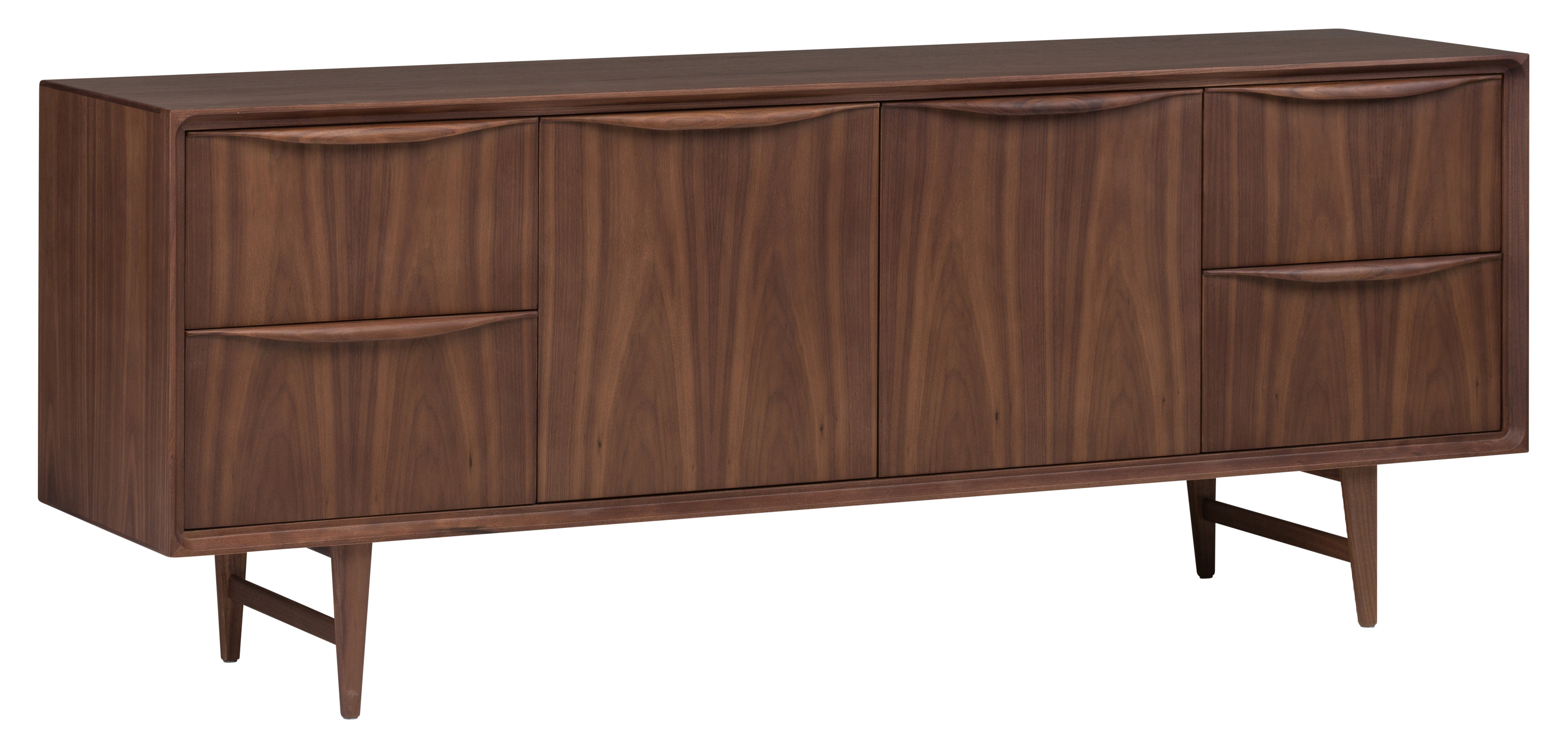 Well Known Emiliano Sideboards With Divis Solid Wood Buffet Table (View 17 of 20)