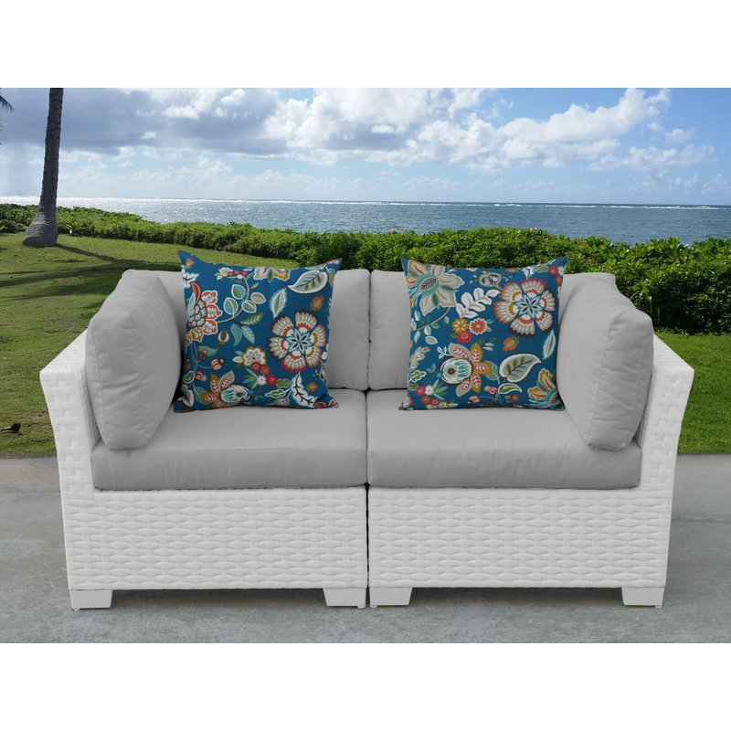 Well Known Falmouth Loveseats With Cushions Intended For Monaco Loveseat With Cushions (View 16 of 20)