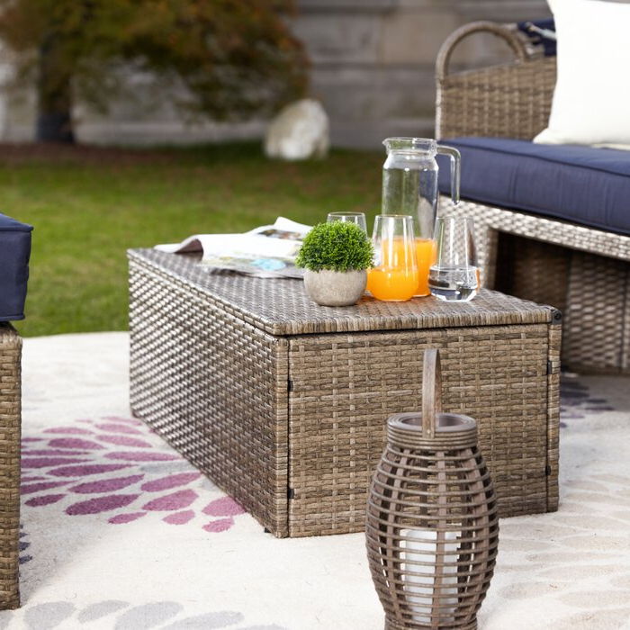 Well Known Fansler Patio Daybeds With Cushions Inside Fansler Patio Daybed With Cushions (View 19 of 20)