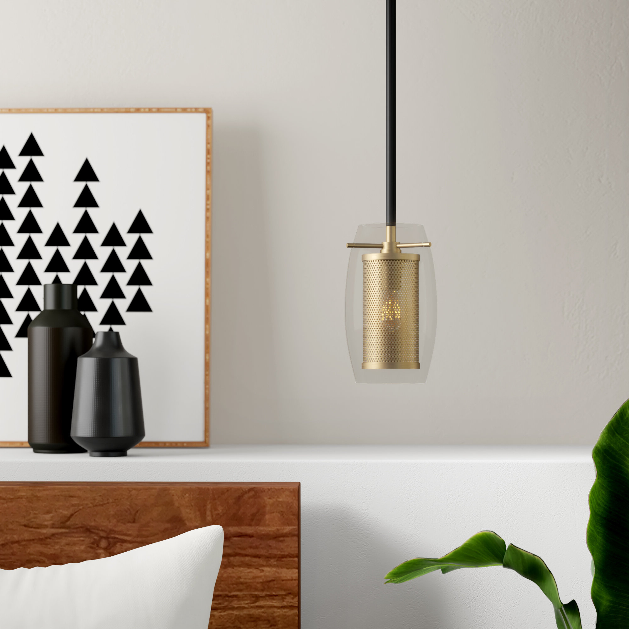 Well Known Fennia 1 Light Single Cylinder Pendants Throughout Depp 1 Light Single Cylinder Pendant (View 19 of 20)