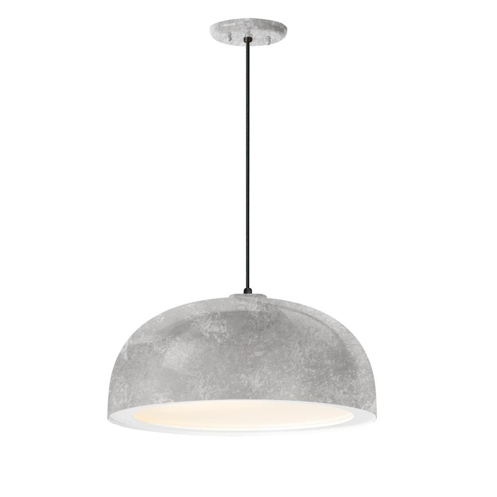 Well Known Freeda 1 Light Single Dome Pendants For Troy Rlm Dome 16 In (View 20 of 20)