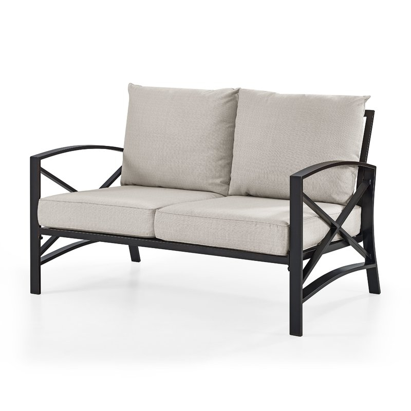 Well Known Freitag Loveseat With Cushions Throughout Bryant Loveseats With Cushion (View 14 of 20)