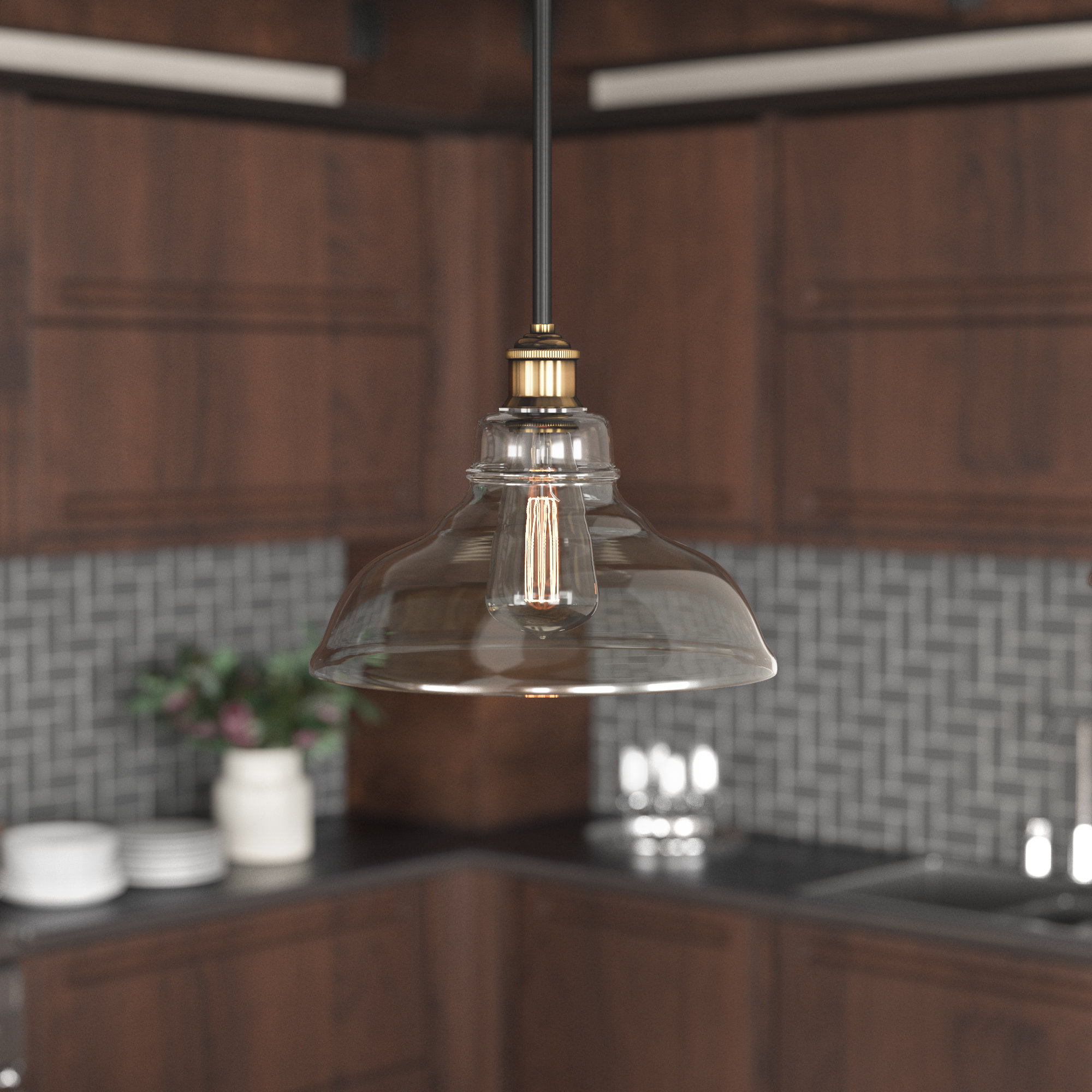Featured Photo of Fresno Dome 1 Light Bell Pendants