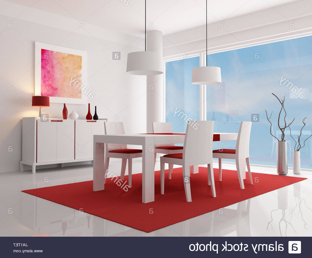 Well Known Furniture Sideboard Carpet Stock Photos & Furniture Regarding Dormer Sideboards (View 20 of 20)