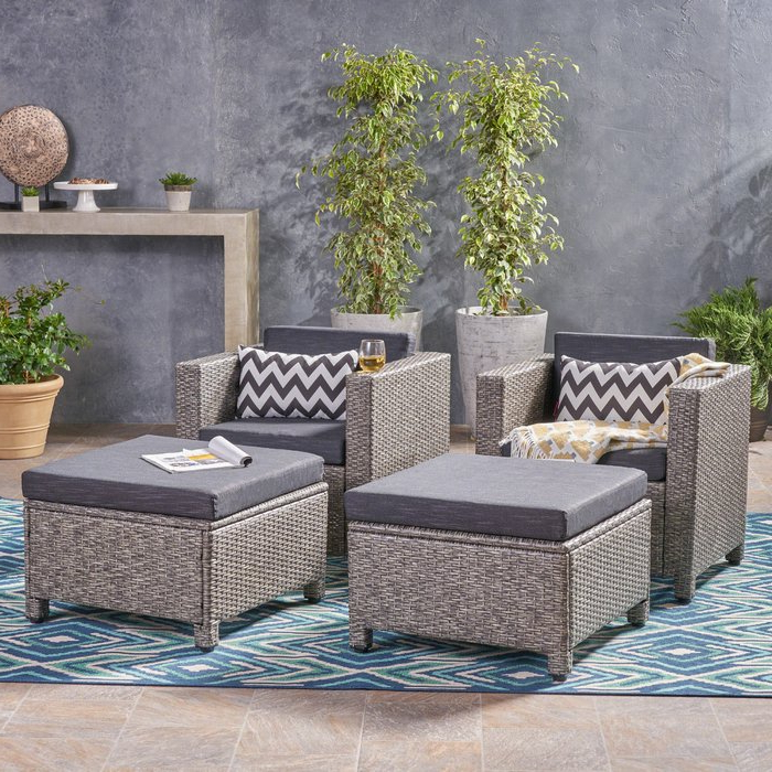 Well Known Furst Patio Chair With Cushion Within Furst Patio Sofas With Cushion (View 17 of 20)