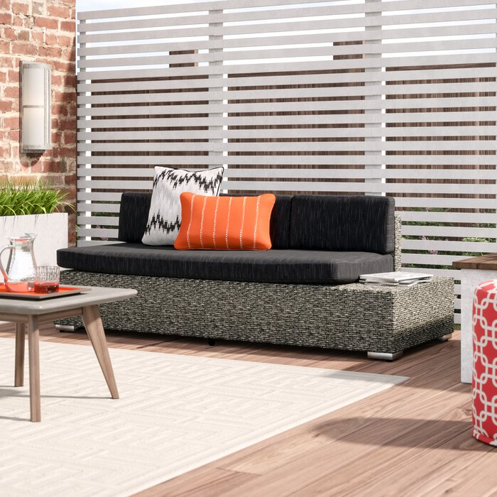 Well Known Furst Patio Sofa With Cushion For Furst Patio Sofas With Cushion (View 3 of 20)