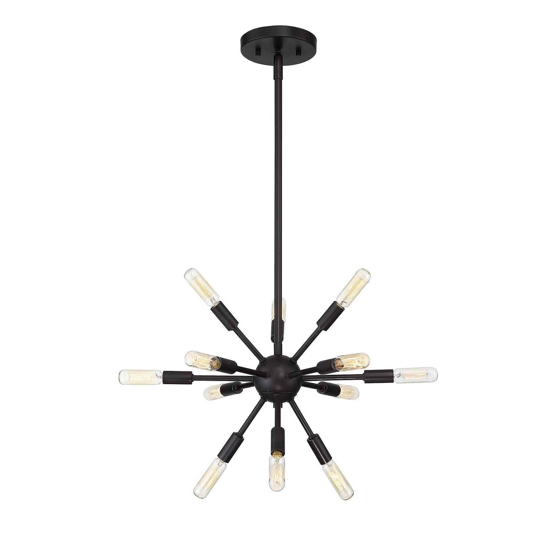 Well Known Helena 12 Light Sputnik Chandelier With Oil Rubbed Bronze In Vroman 12 Light Sputnik Chandeliers (View 11 of 20)