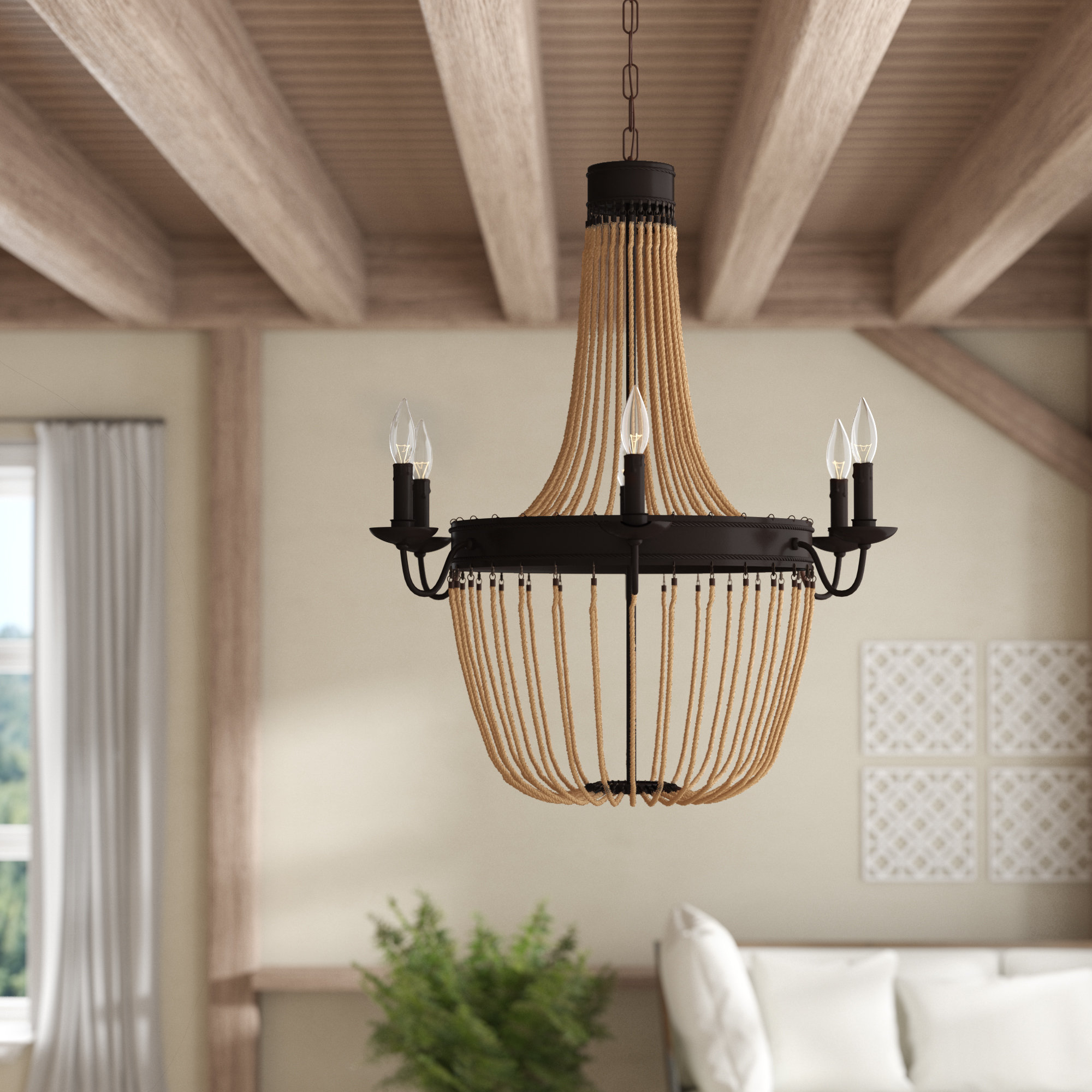 Well Known Jasper 6 Light Empire Chandelier With Phifer 6 Light Empire Chandeliers (Gallery 15 of 20)