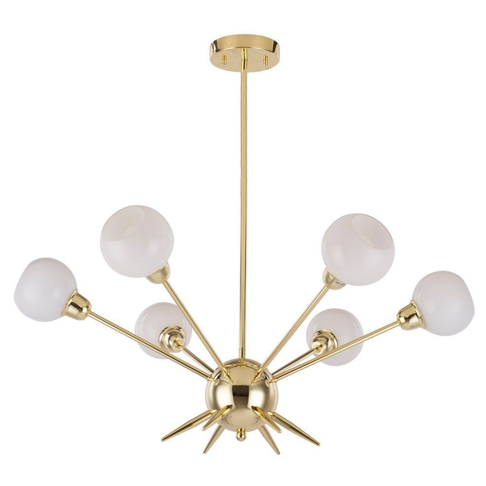 Well Known Lamp: Unitary Brand Morden Metal Large Chandelier With 18 With Bautista 6 Light Sputnik Chandeliers (View 15 of 20)