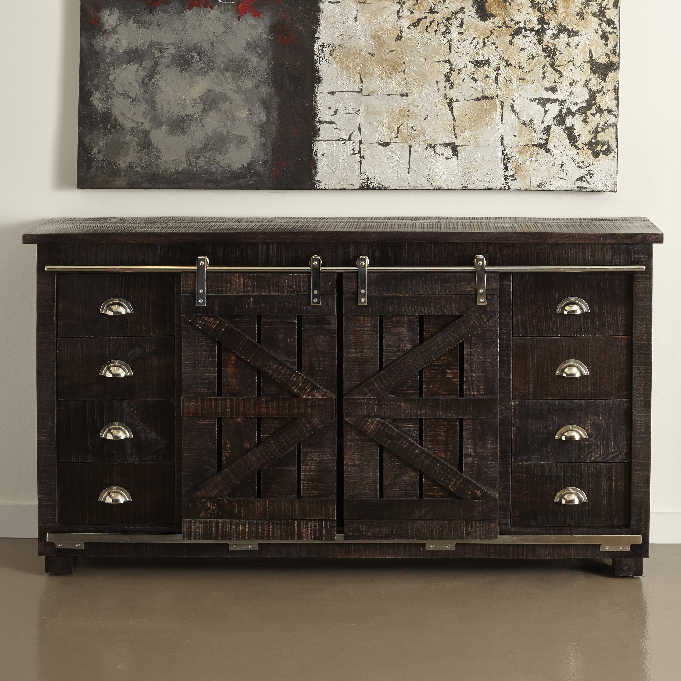 Well Known Laurel Foundry Modern Farmhouse Deana Credenza Throughout Serafino Media Credenzas (View 20 of 20)