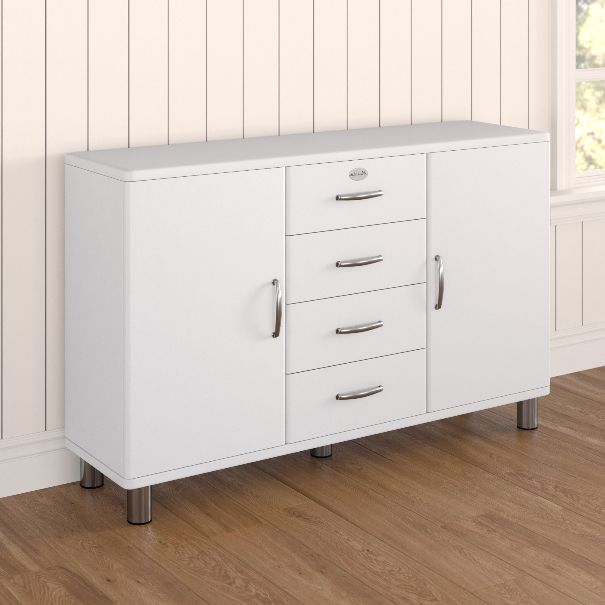Well Known Malibu 2 Door 4 Drawer Sideboard With Malibu 2 Door 4 Drawer Sideboards (View 2 of 20)