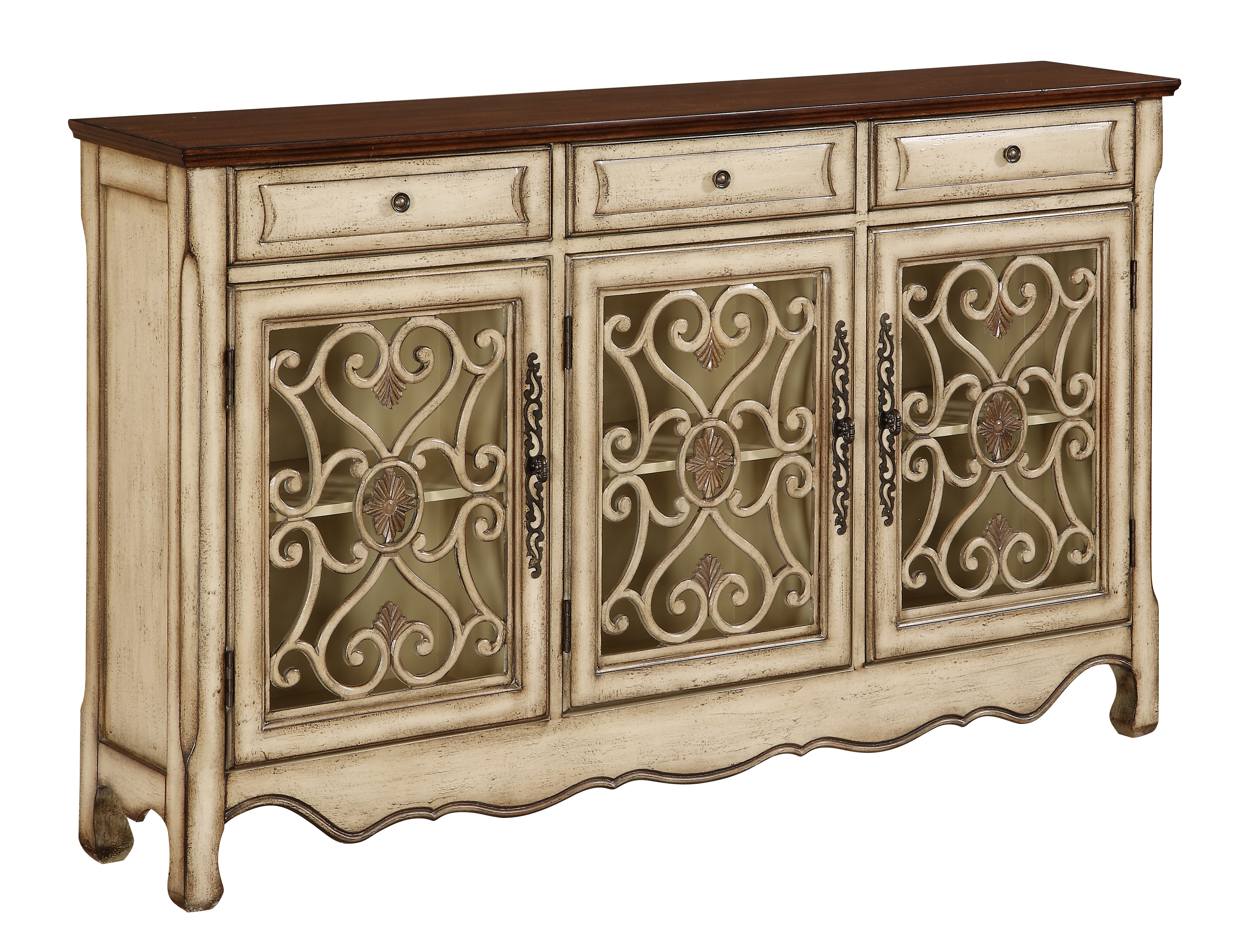 Well Known Mauzy Sideboard Throughout Ilyan Traditional Wood Sideboards (View 18 of 20)