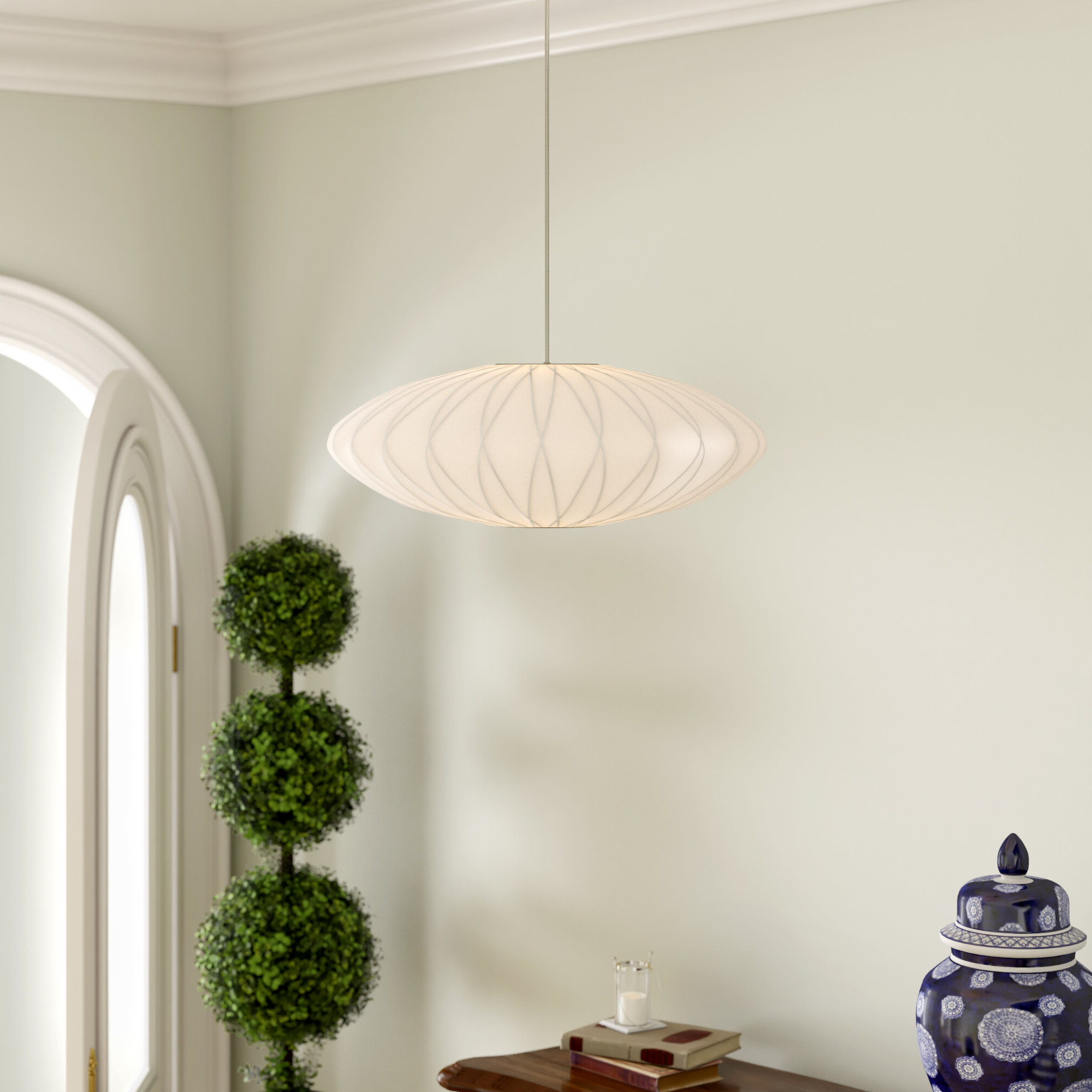 Well Known Melora 1 Light Single Geometric Pendants Regarding 1 Light Unique / Statement Geometric Pendant (Gallery 16 of 20)
